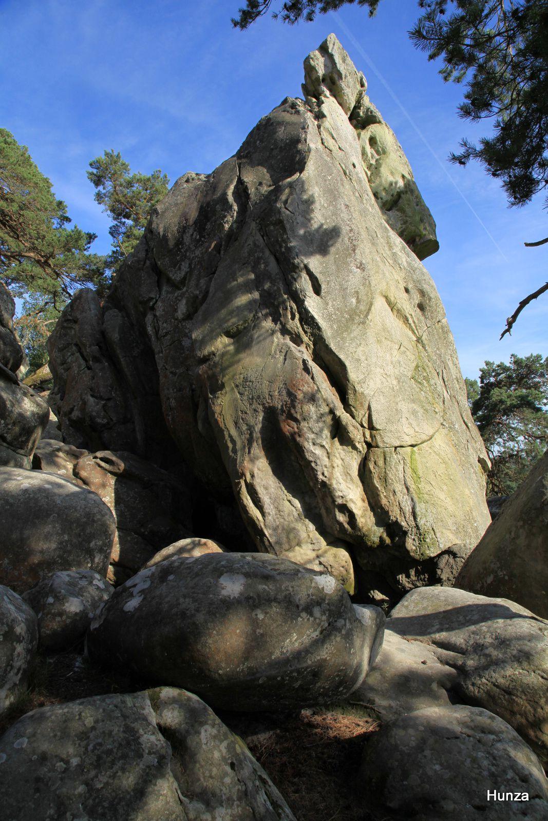 Rocher de la Dame Jouanne à Larchant