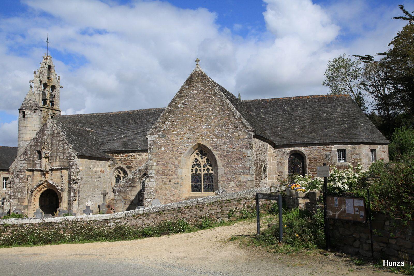 L'église Saint-Loup de Lanloup