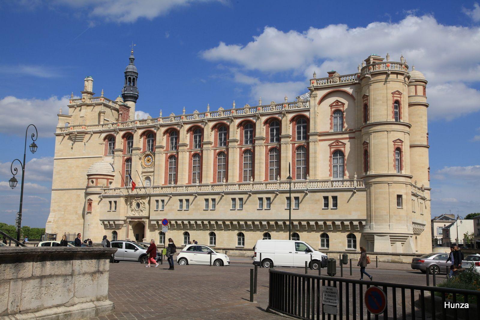 Le château qui abrite le musée d'archéologie nationale
