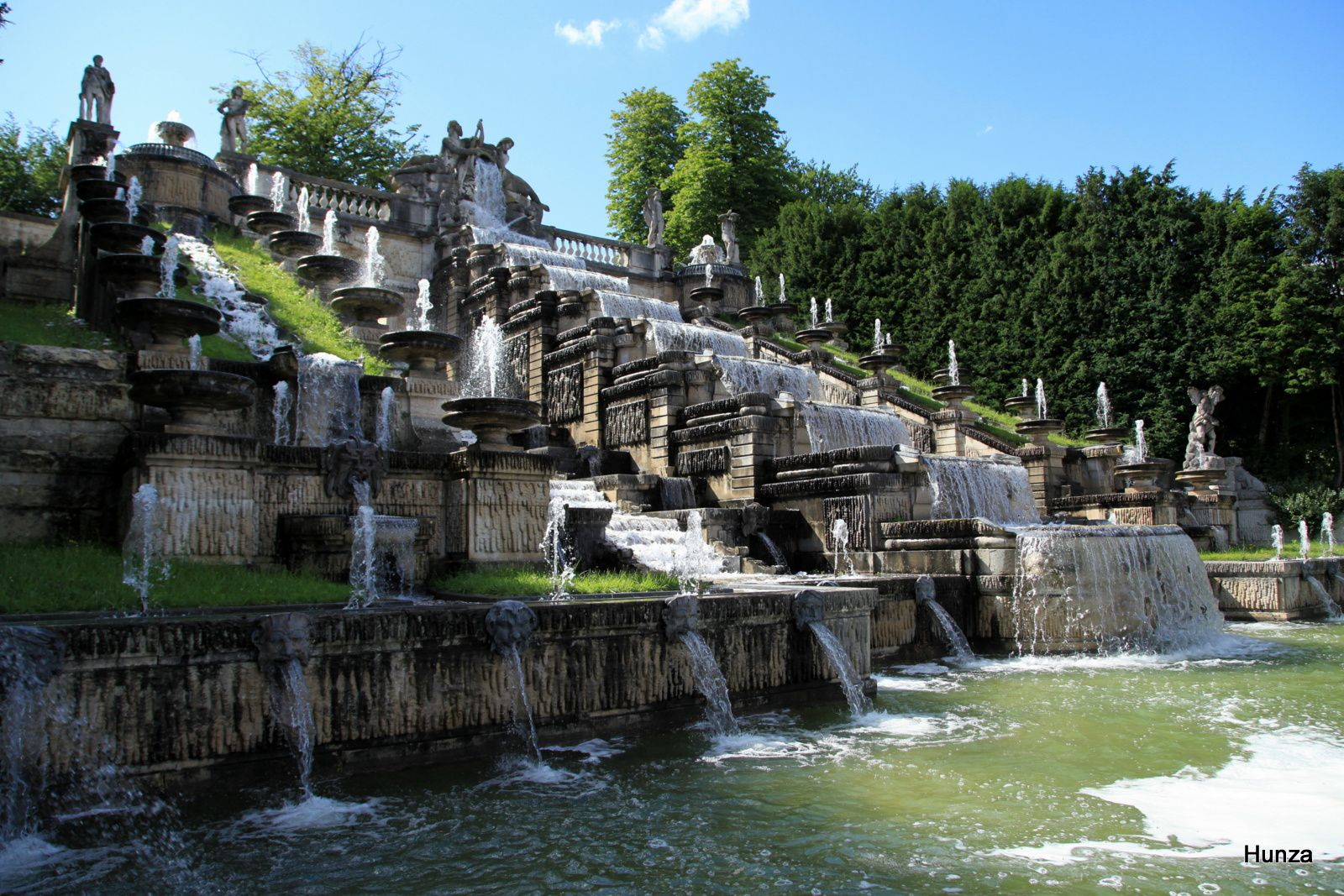 Domaine national de Saint-Cloud : la grande cascade