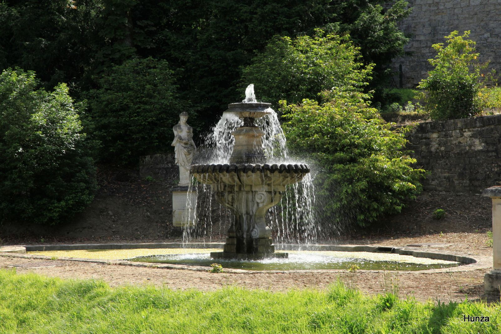 Domaine national de Saint-Cloud : la fontaine du Gros Bouillon