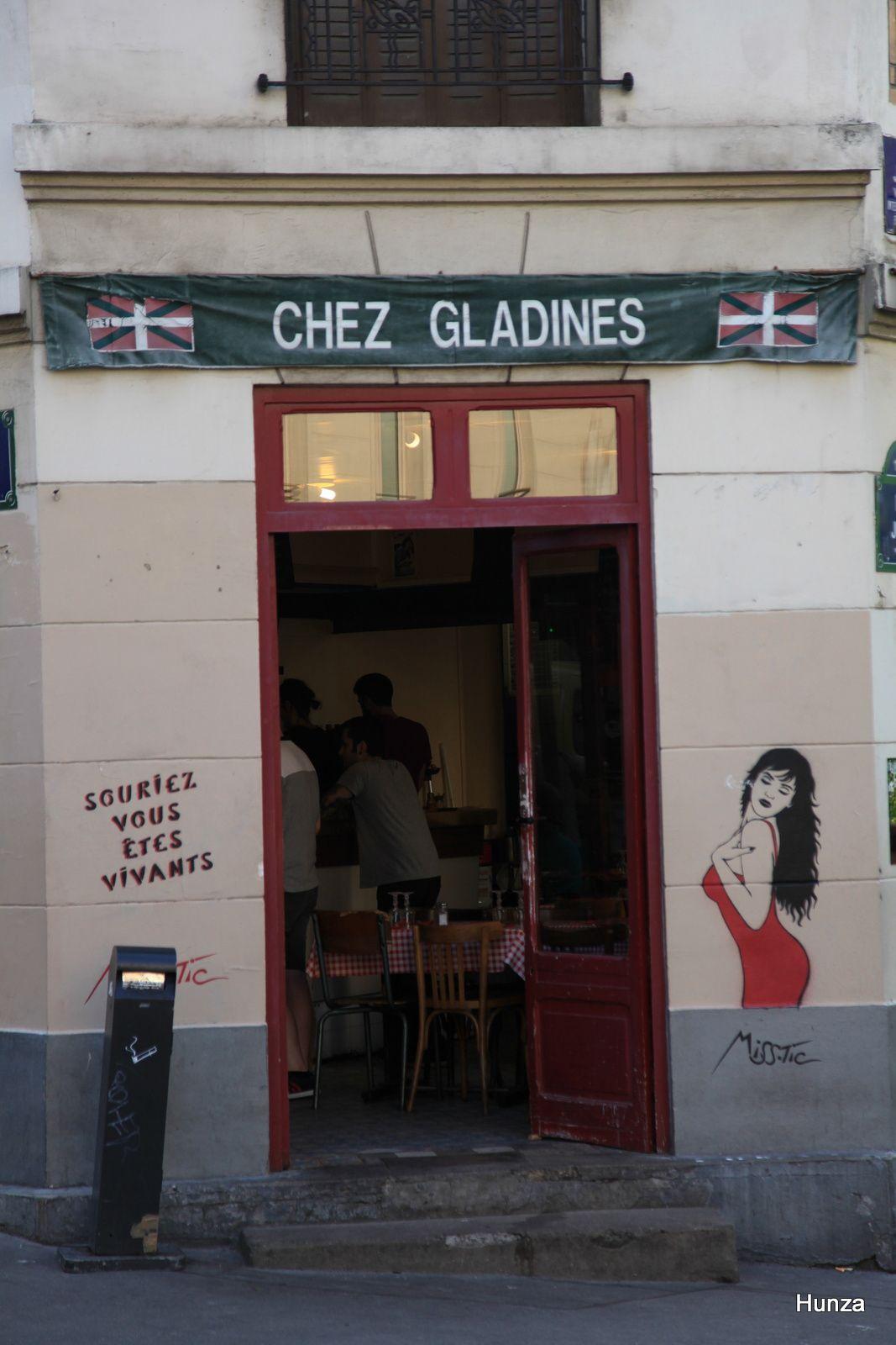 Chez Gladines, quartier Butte aux Cailles