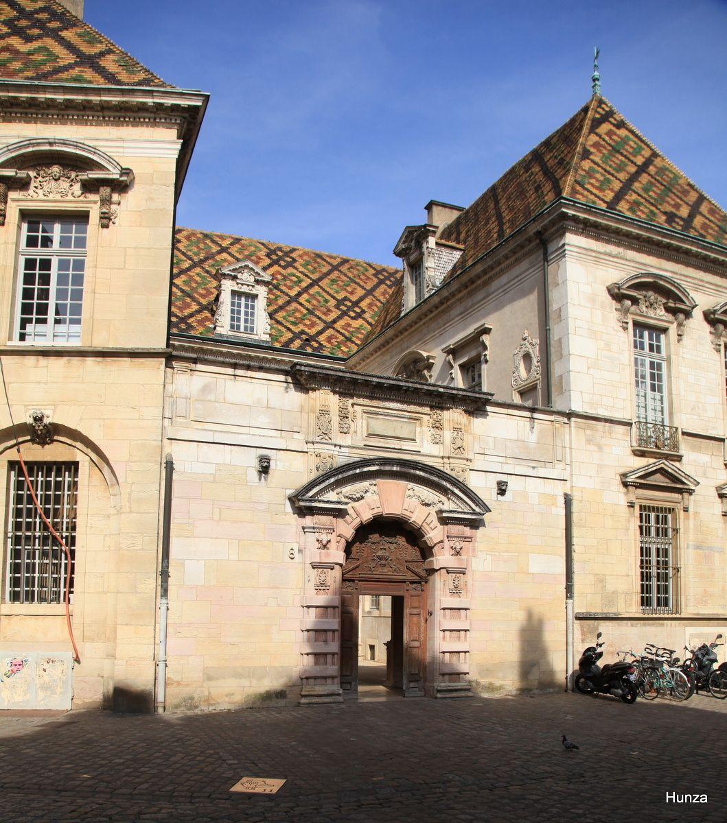 Dijon, l'hôtel Vogüe