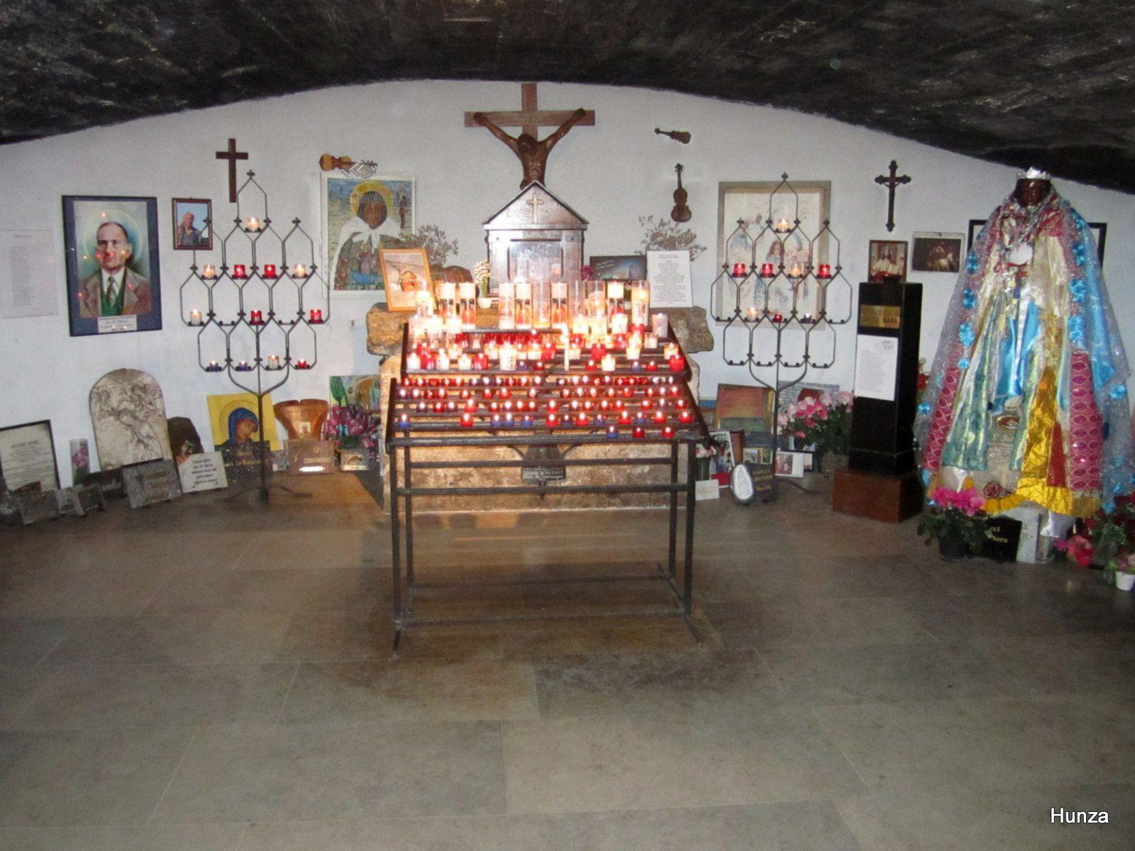 Eglise Notre-Dame de la Mer, la crypte