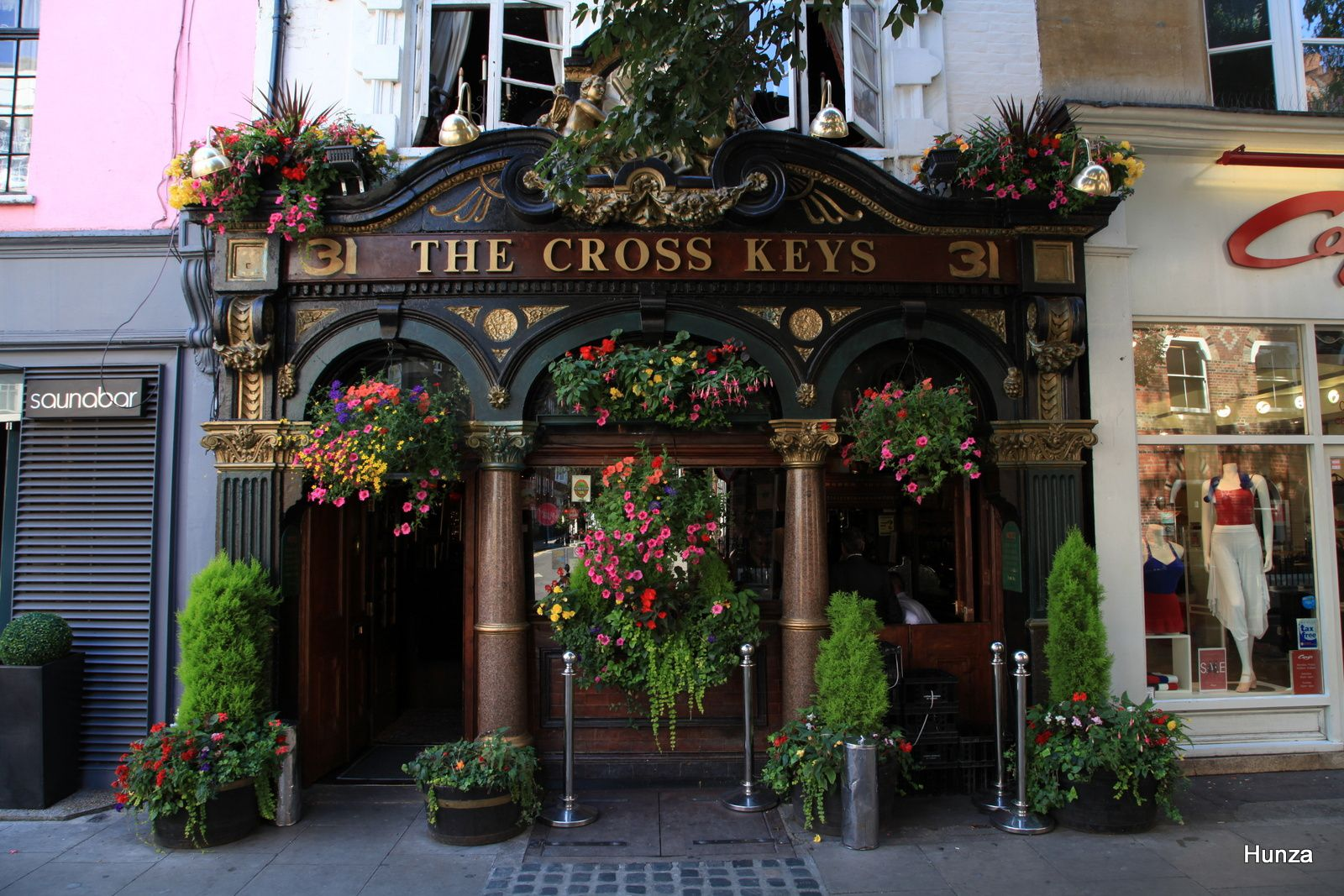 Le Cross Key, un pub londonien à Covent Garden