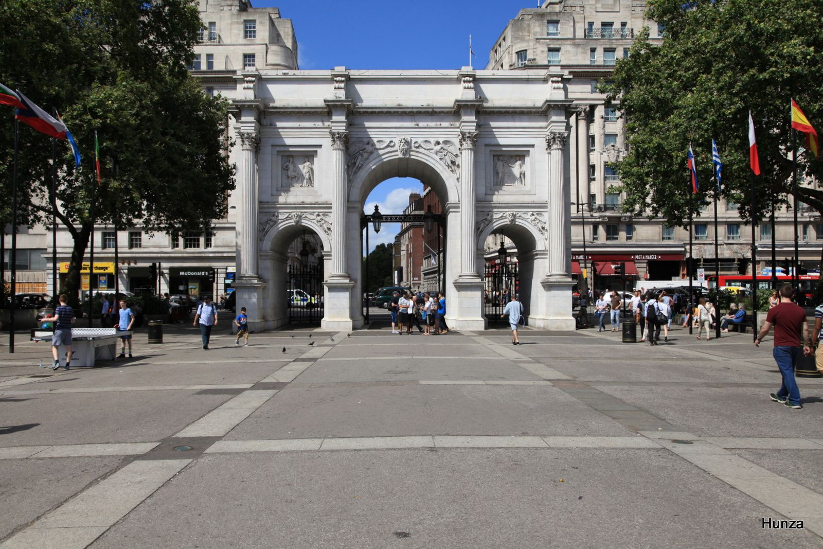Marble Arch (marbre blanc de Carrare)