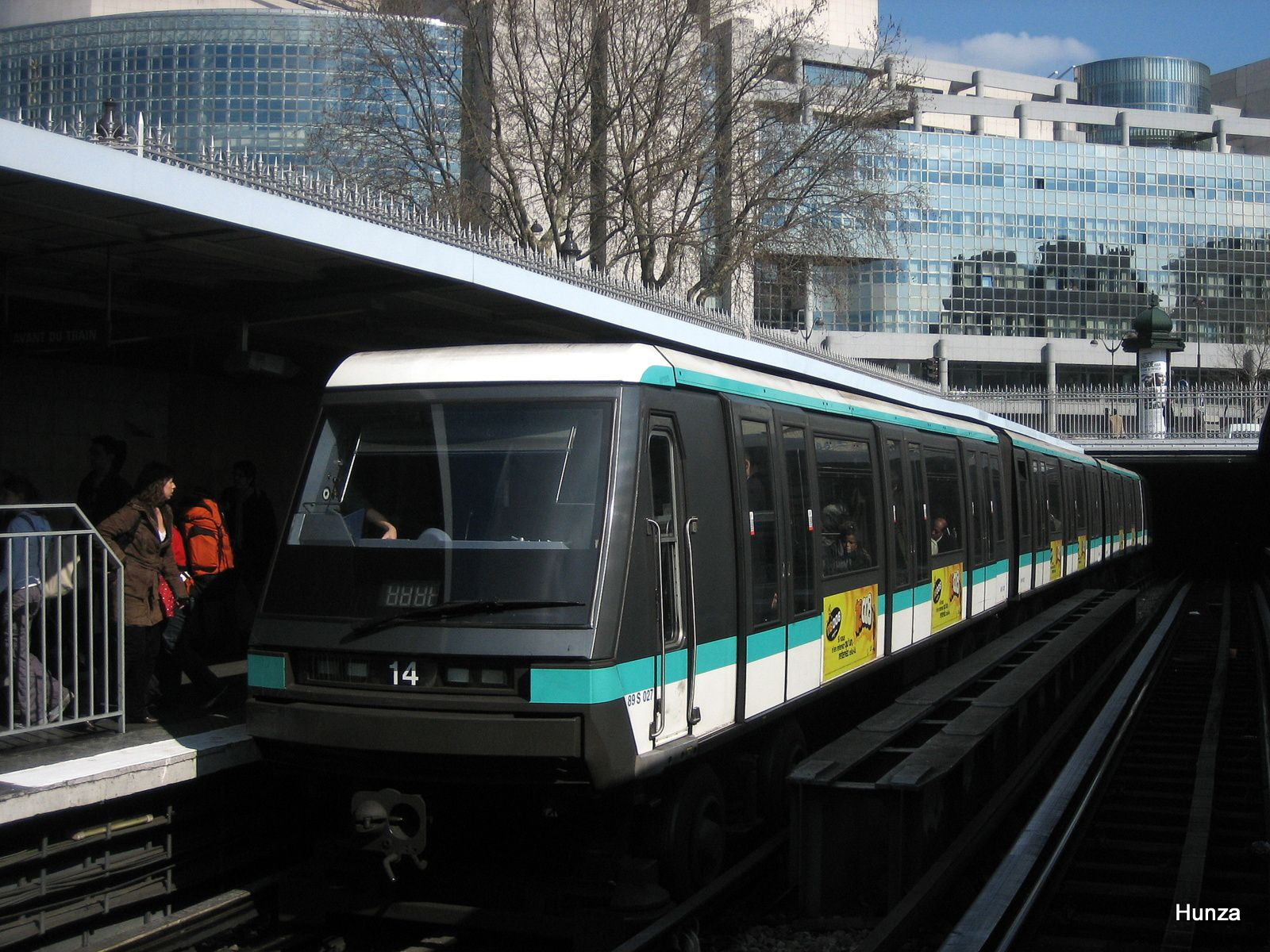 "MP 89 n°14 à la station ""Bastille"" (6 avril 2006)"