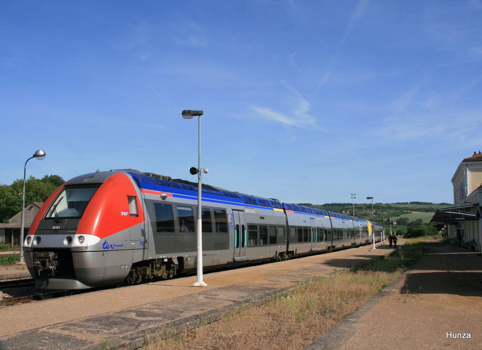 Cravant Bazarnes : X 81731 en tête (23 mai 2011)