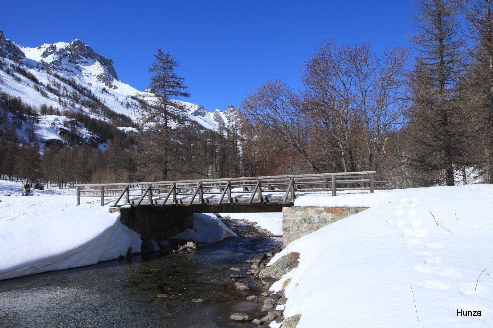 Le pont de la Fruitière (hameau de Fontcouverte)