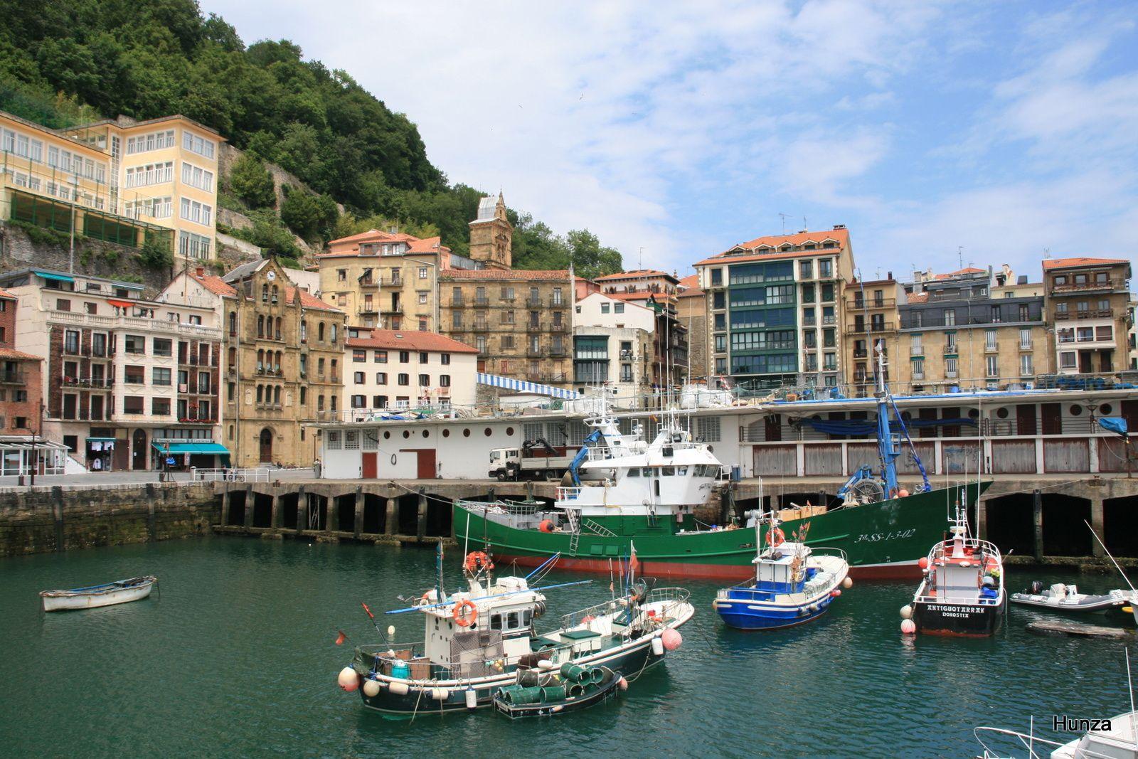 Le port de pêche de San Sebastián