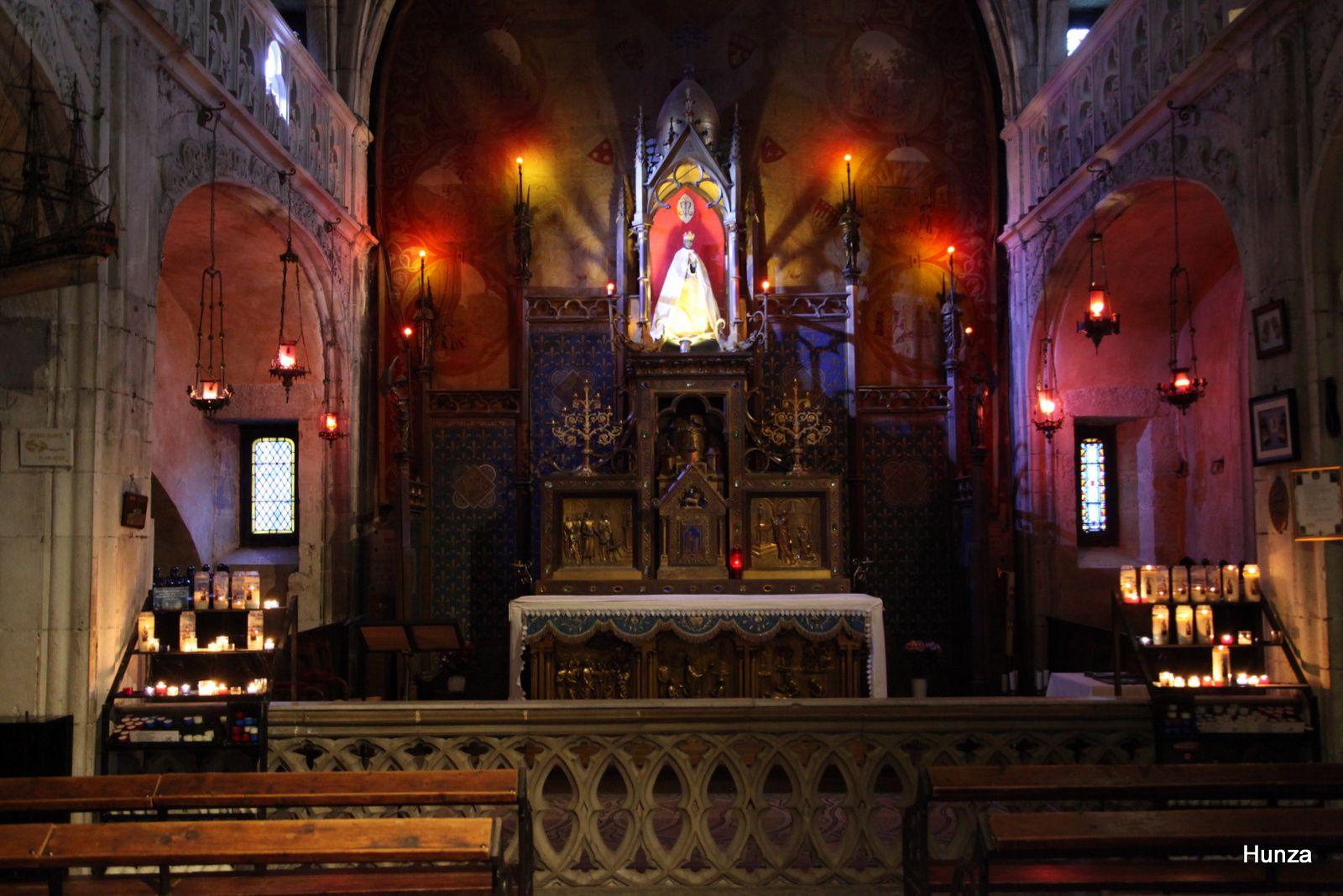Vierge noire de Rocamadour (chapelle Notre Dame)