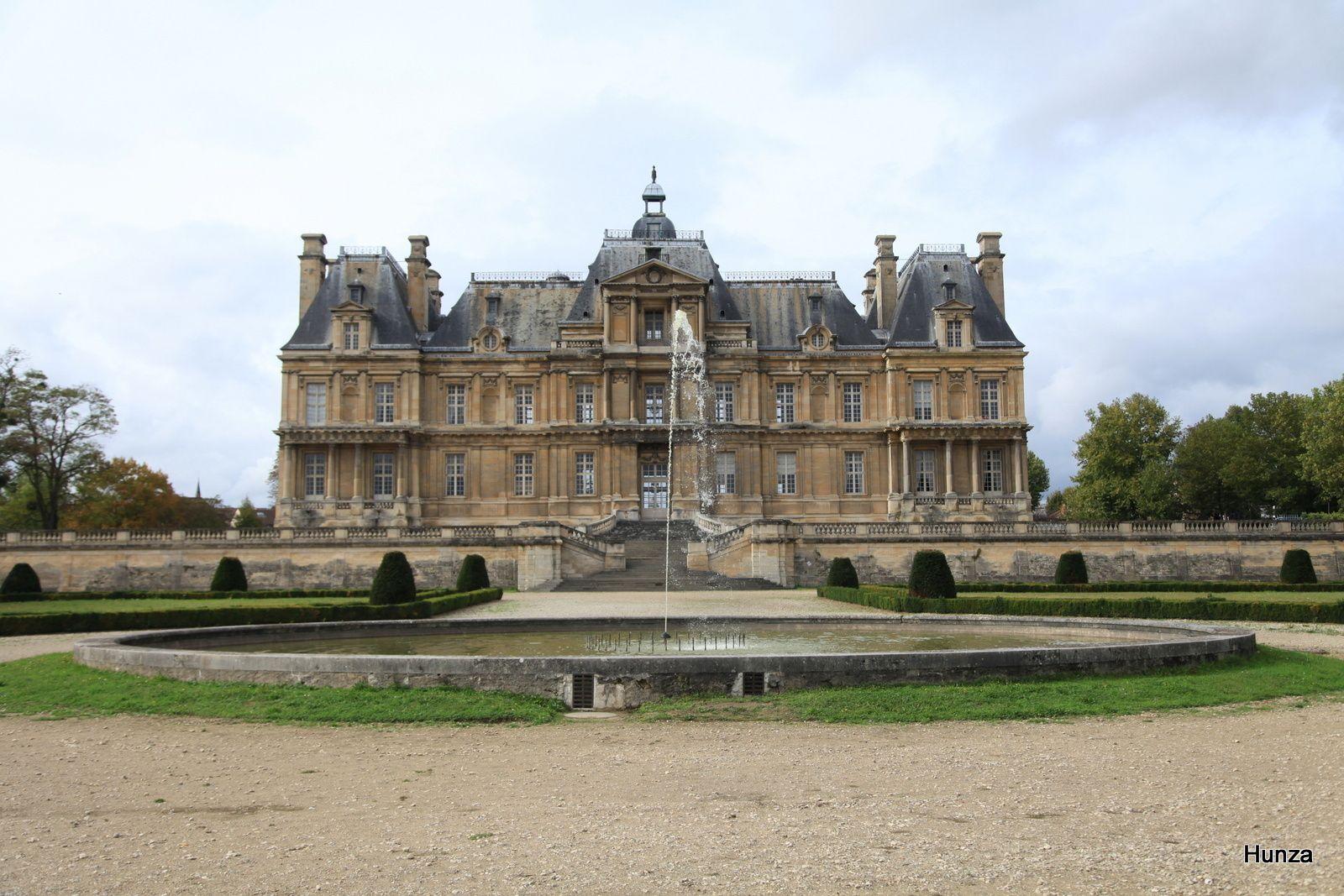 Château de Maisons Laffitte, façade côté jardin
