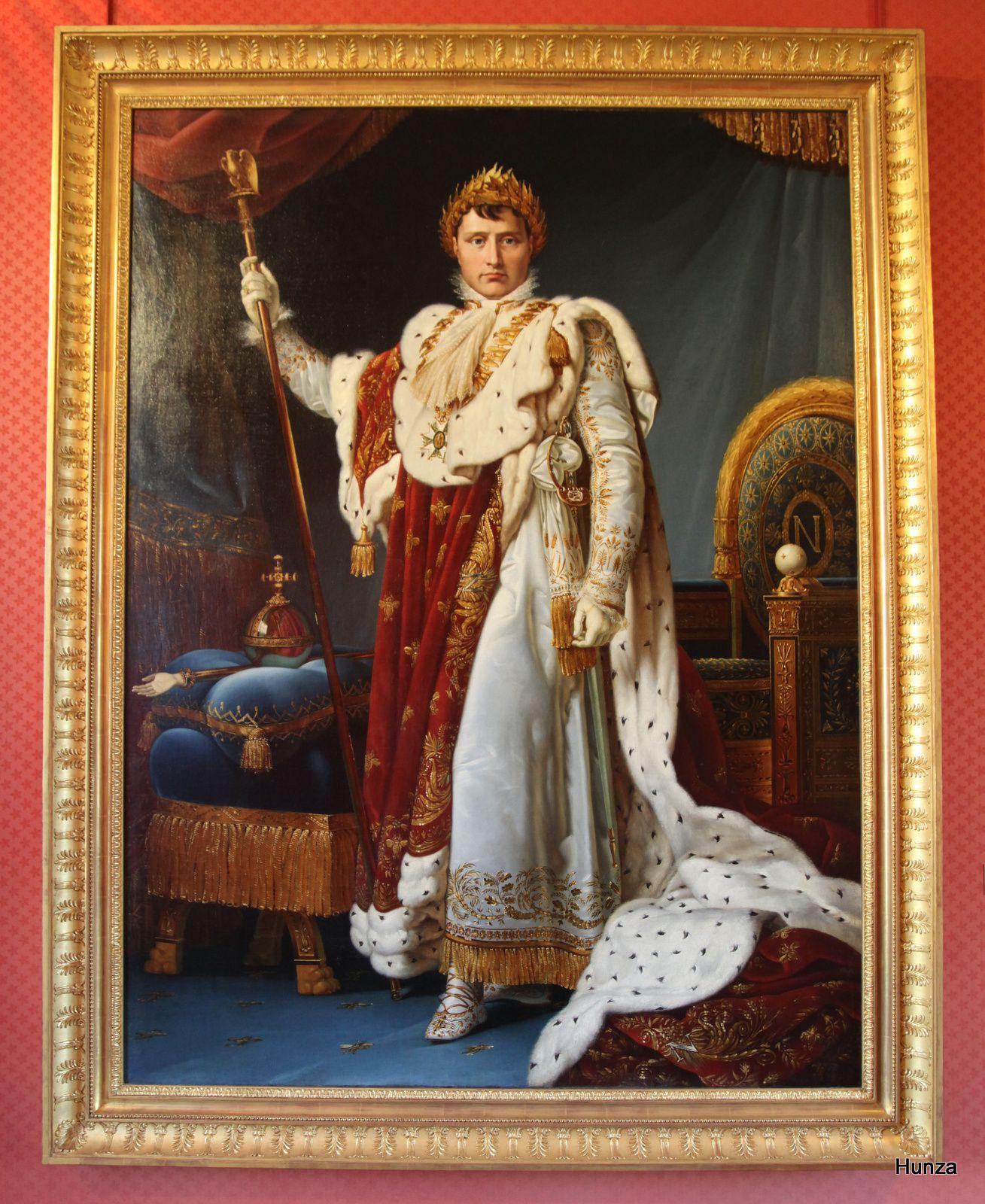 L'empereur Napoléon peint en 1805 par le baron François Gérard (1770-1837)