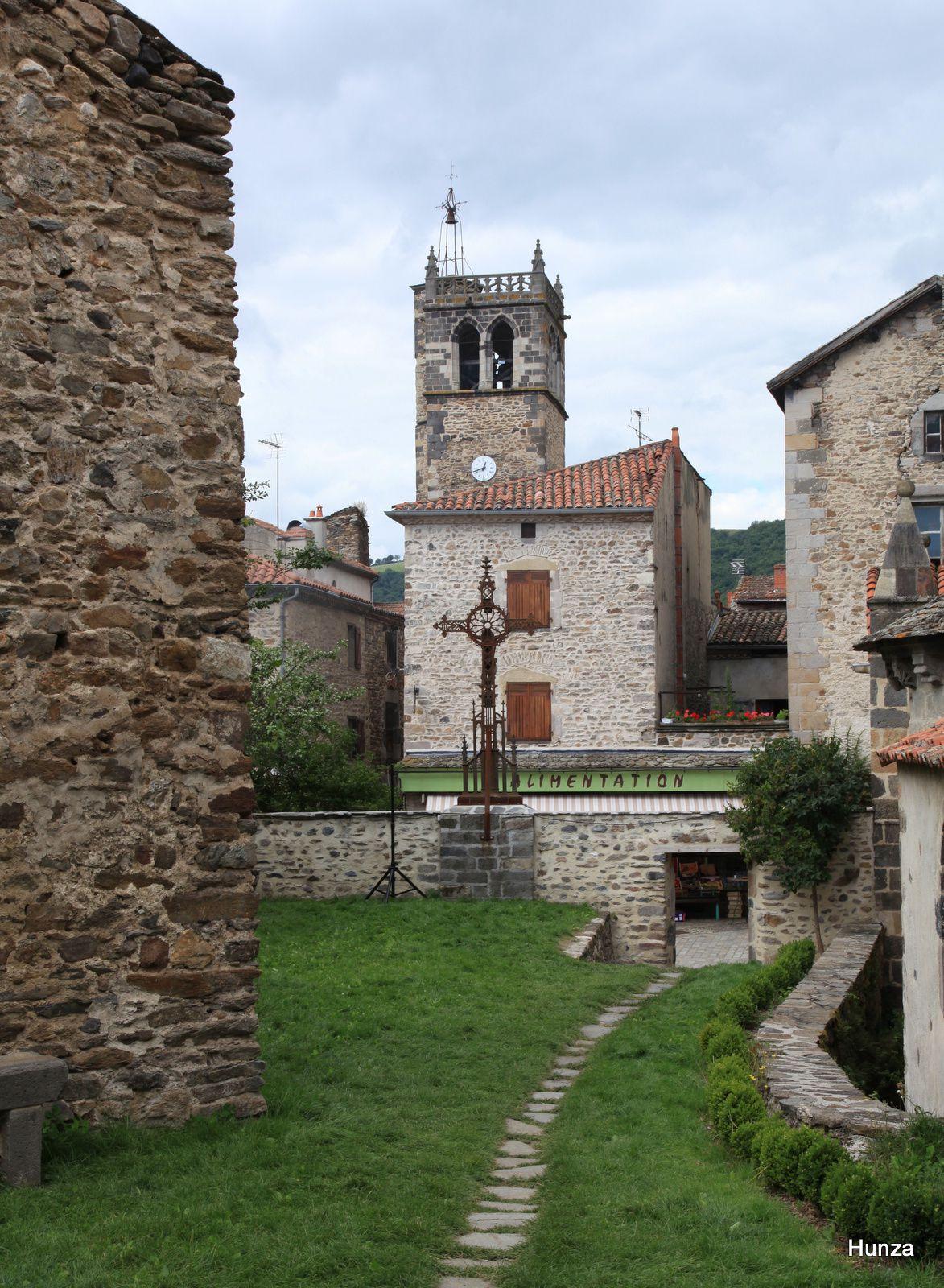 Blesles, clocher de l'église Saint-Martin