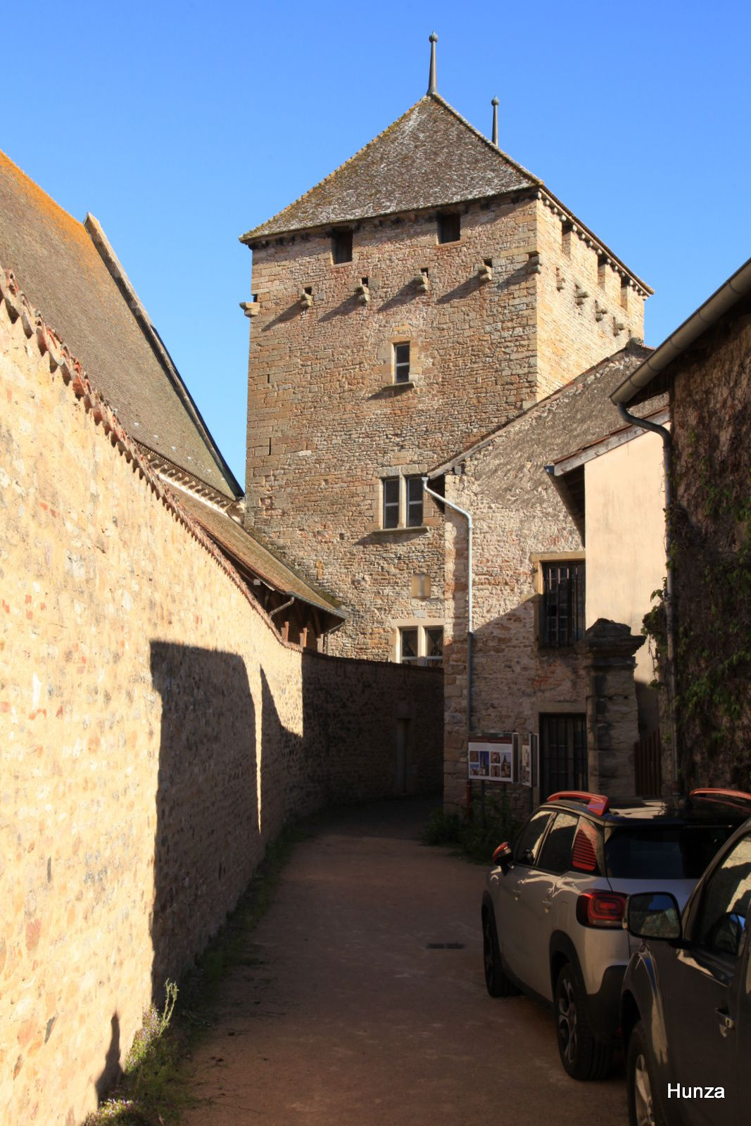 Cluny, tour du Moulin