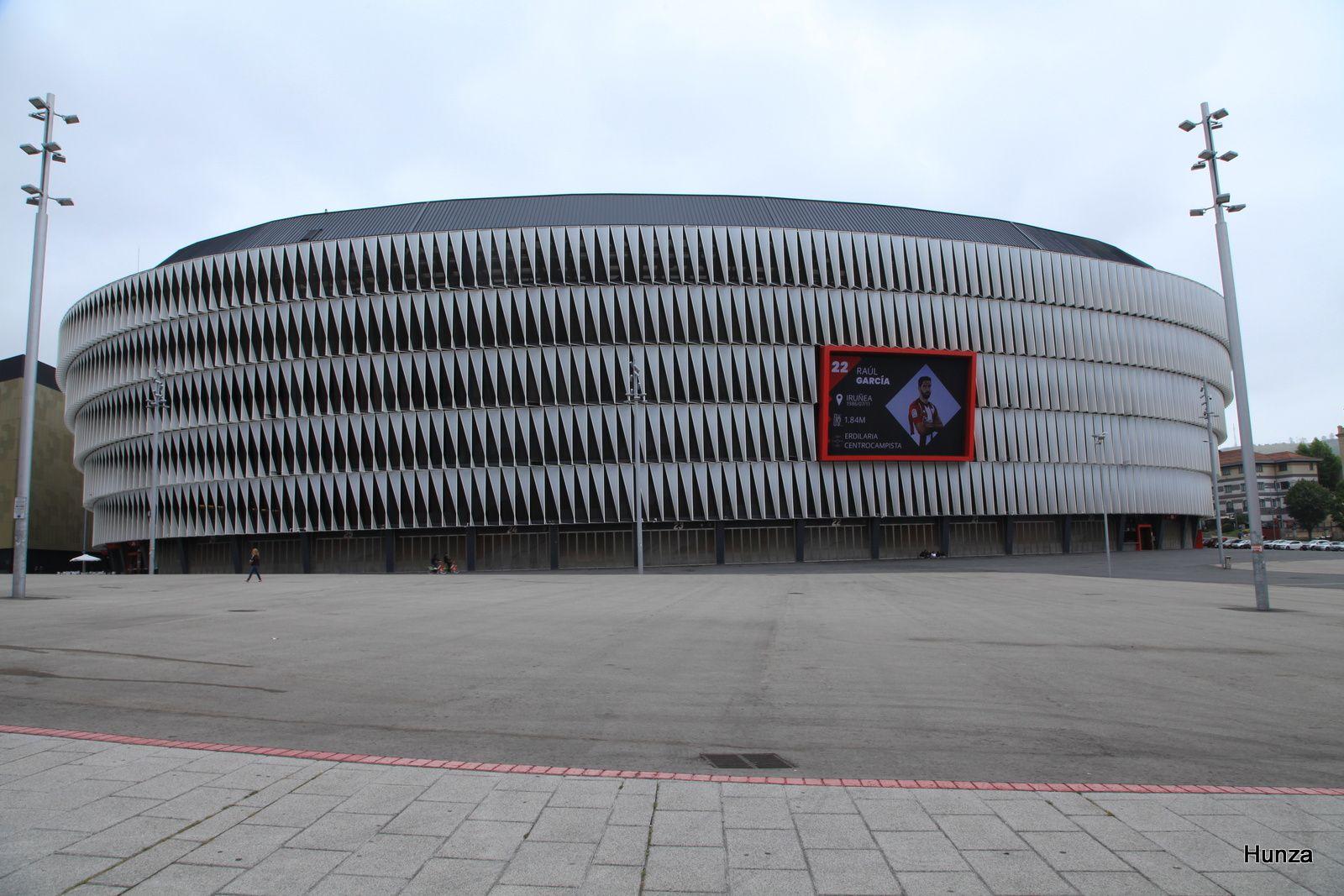 Bilbao, stade San Mamés