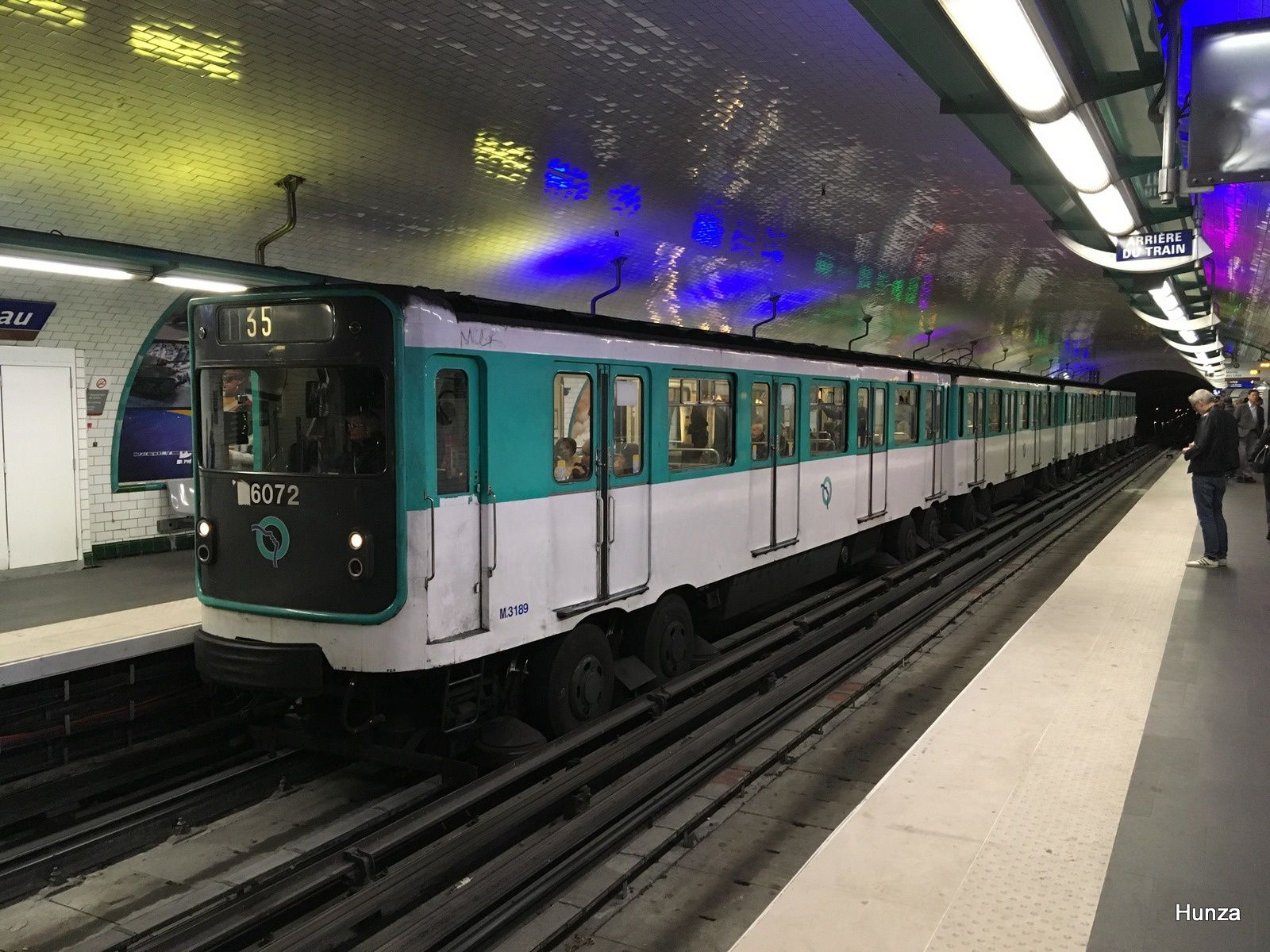 MP 59 à la station Rambuteau (28 mai 2019)