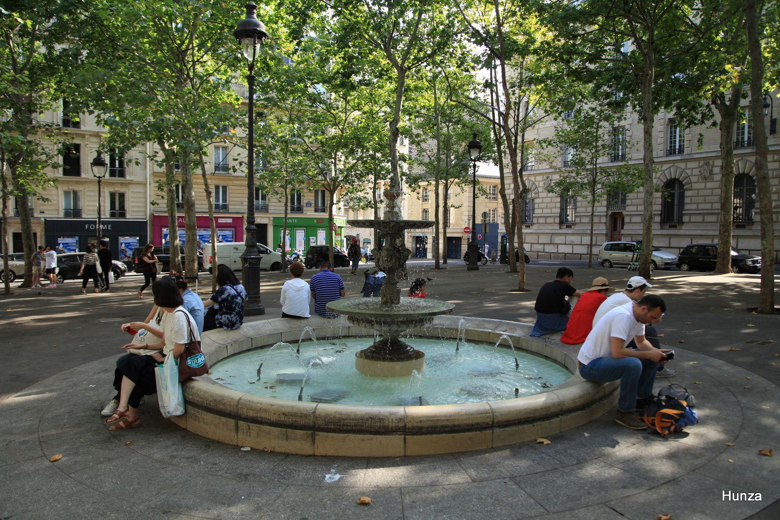 Fontaines, bassins et jets d'eau du 5ème arrondissement de Paris