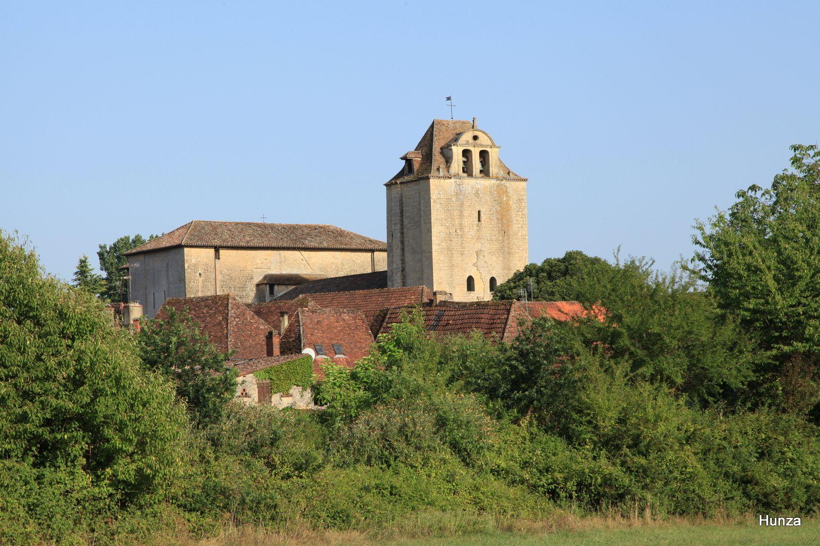 Eglise fortifiée de Saint-Nicolas de Tremolat