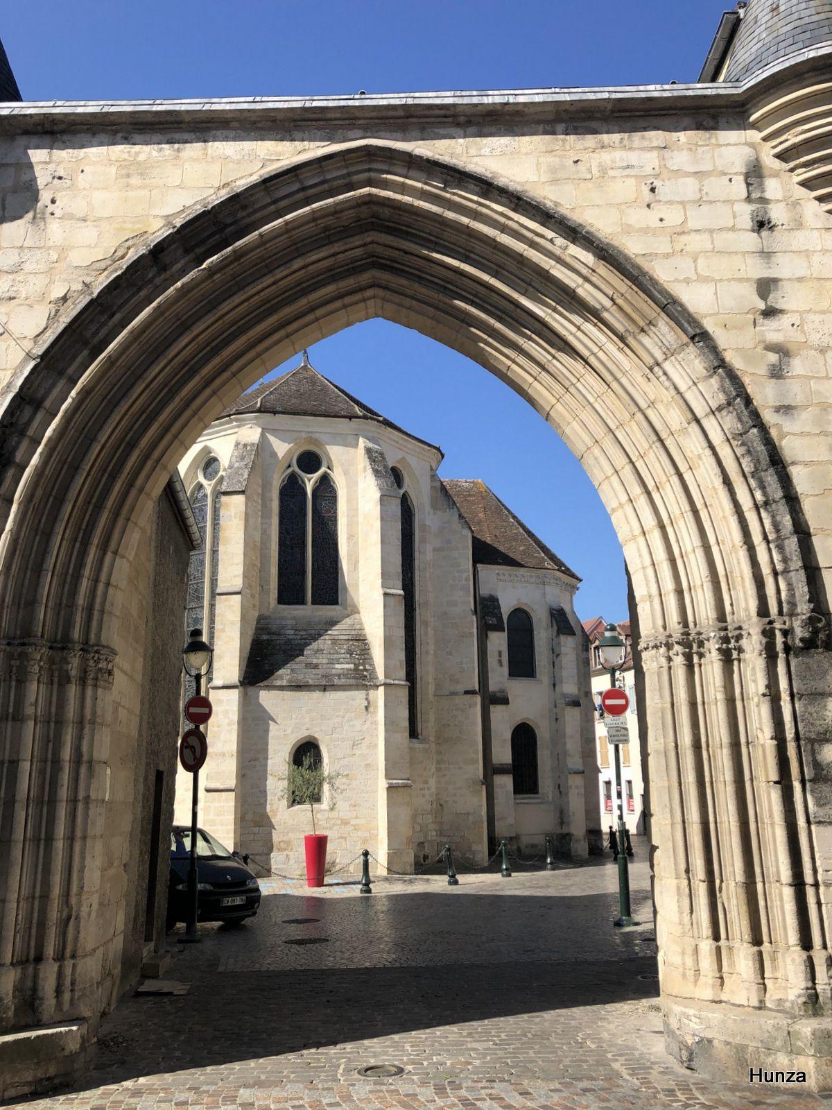 Corbeil Essonnes, porte du cloître Saint-Spire