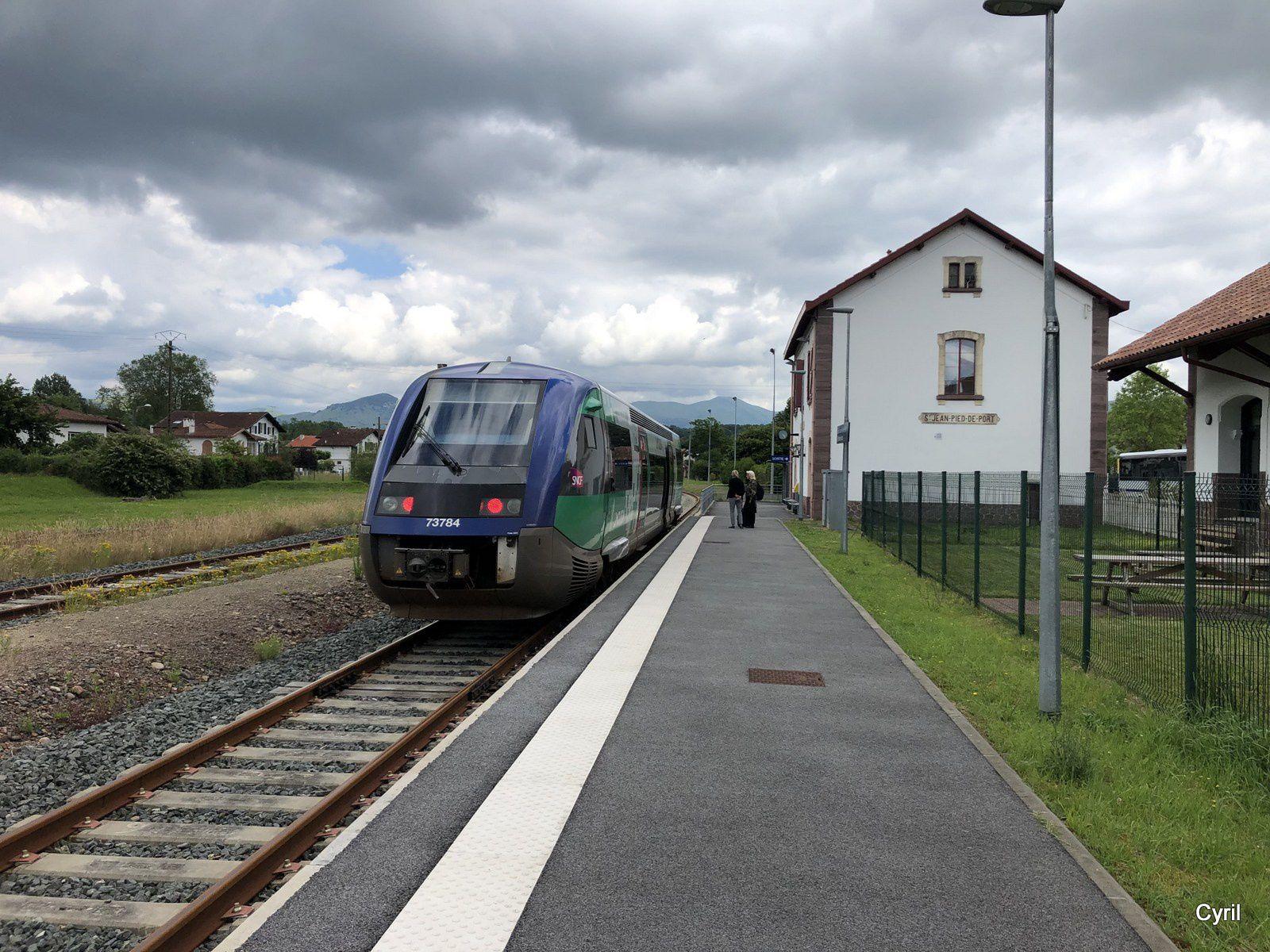 Le Pays Basque en train : de Bayonne à Saint-Jean Pied de Port