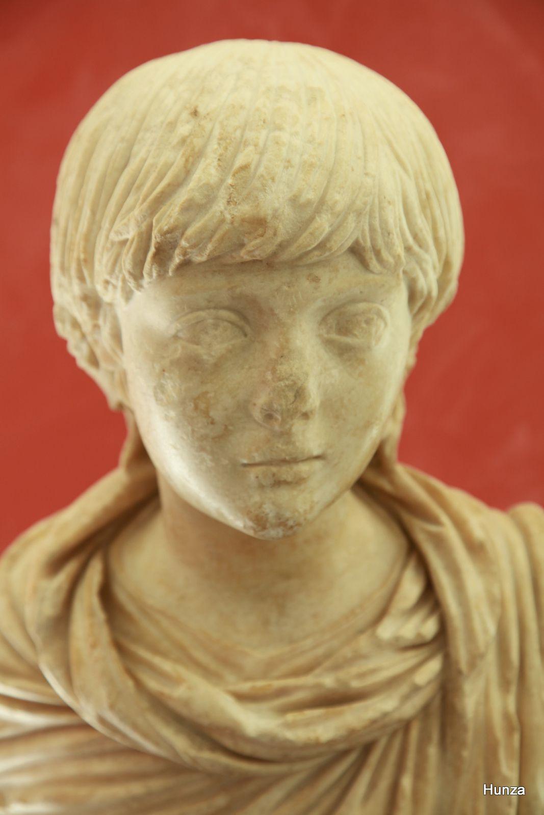 Musée départementale de l'Arles antique, buste de jeune prince