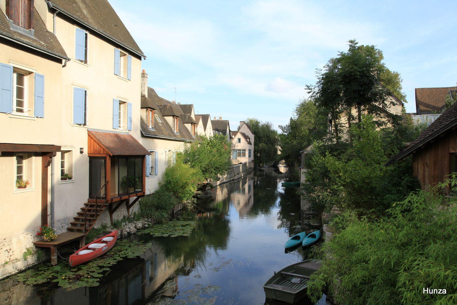 Chartres, les rives de l'Eure