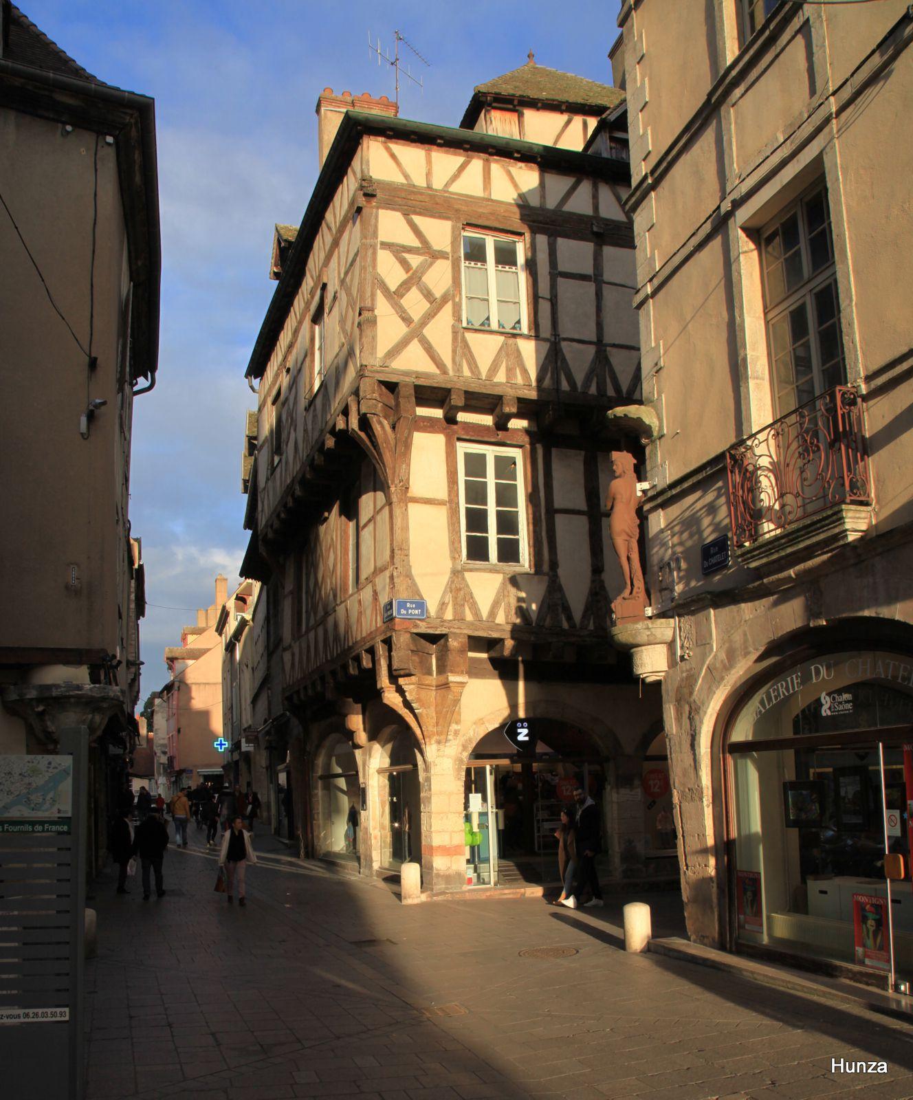 Châlon sur Saône, maison de la Mothe