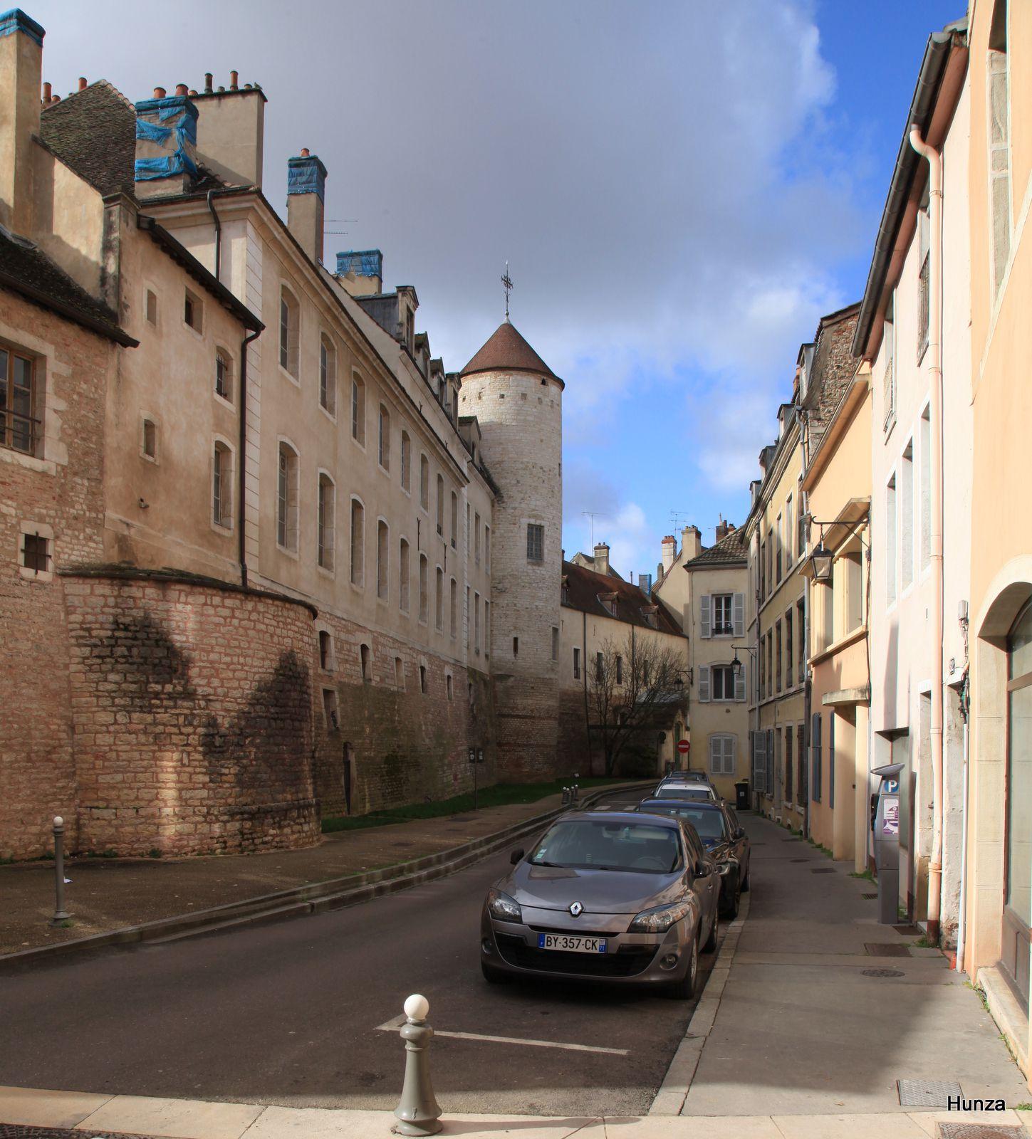 Châlon sur Saône, enceinte gallo-romaine