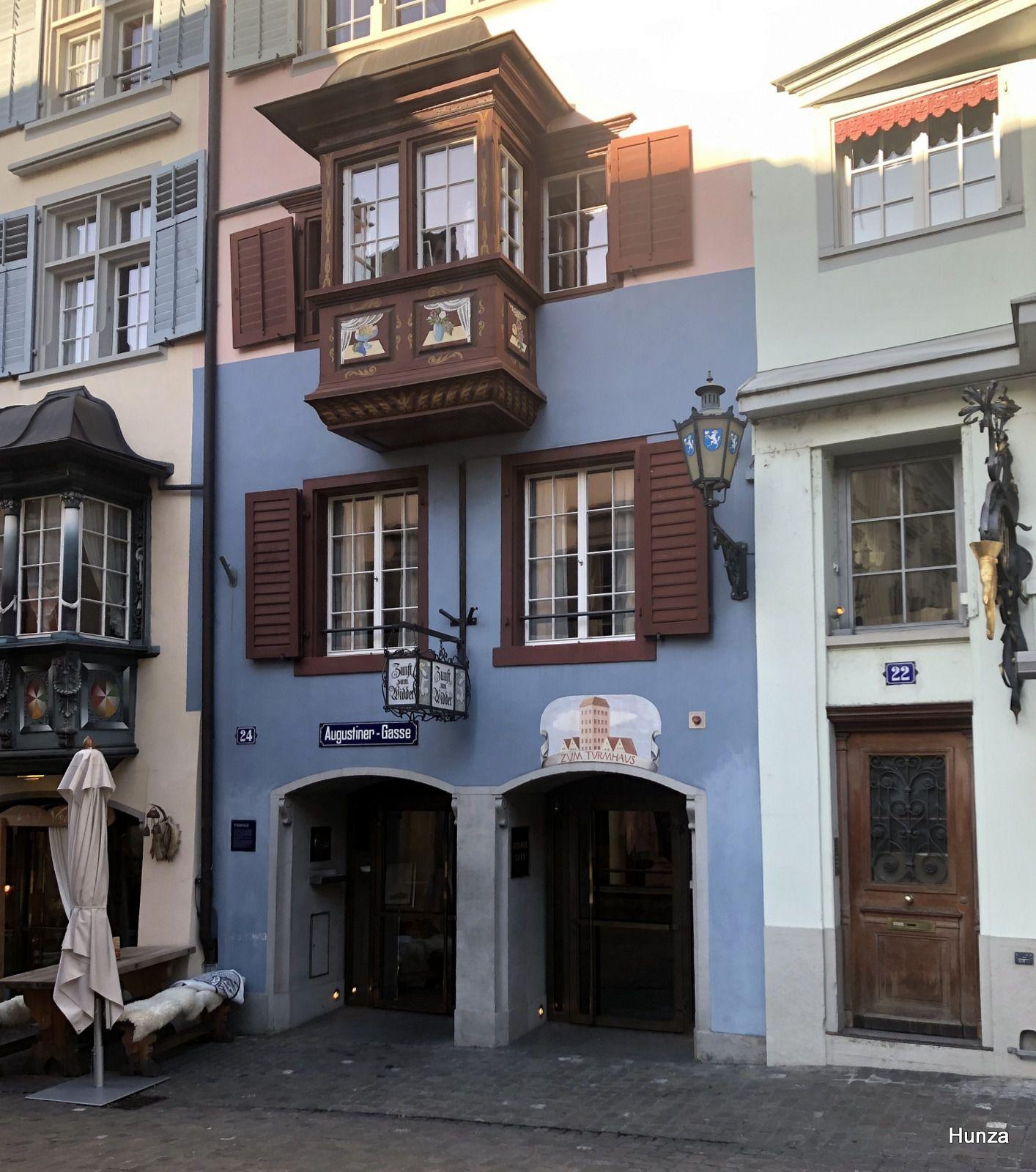 Zürich, Augustiner Gasse