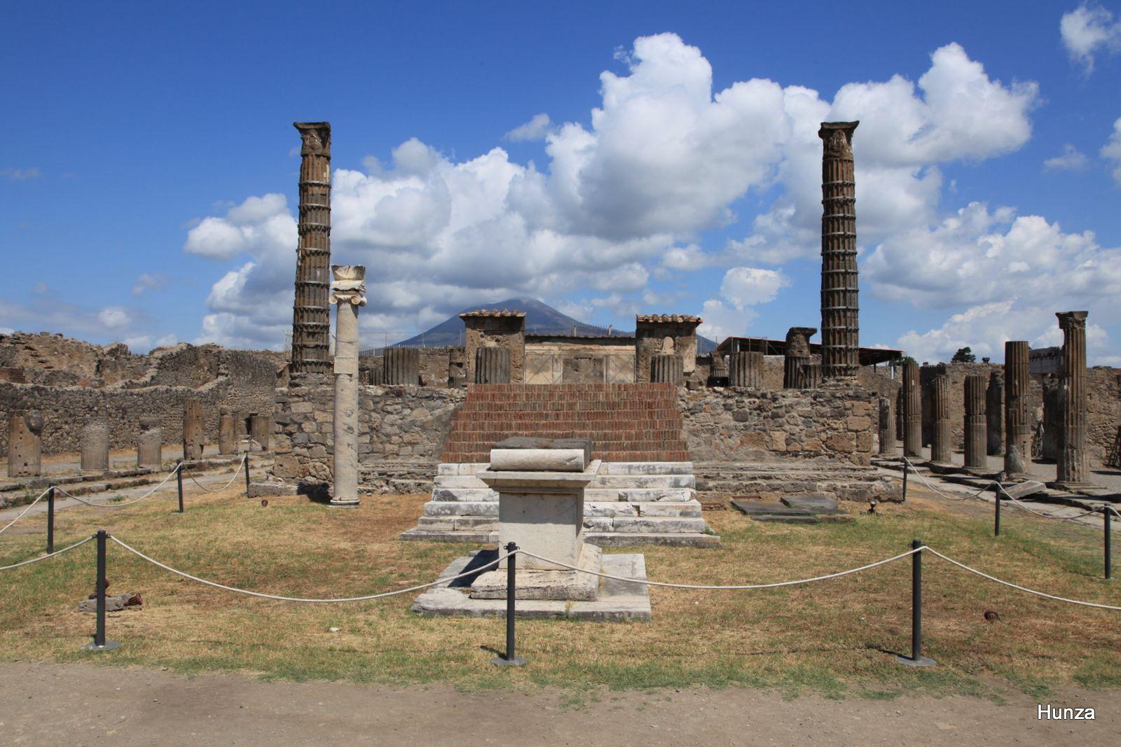 Pompéi, temple d'Apollon