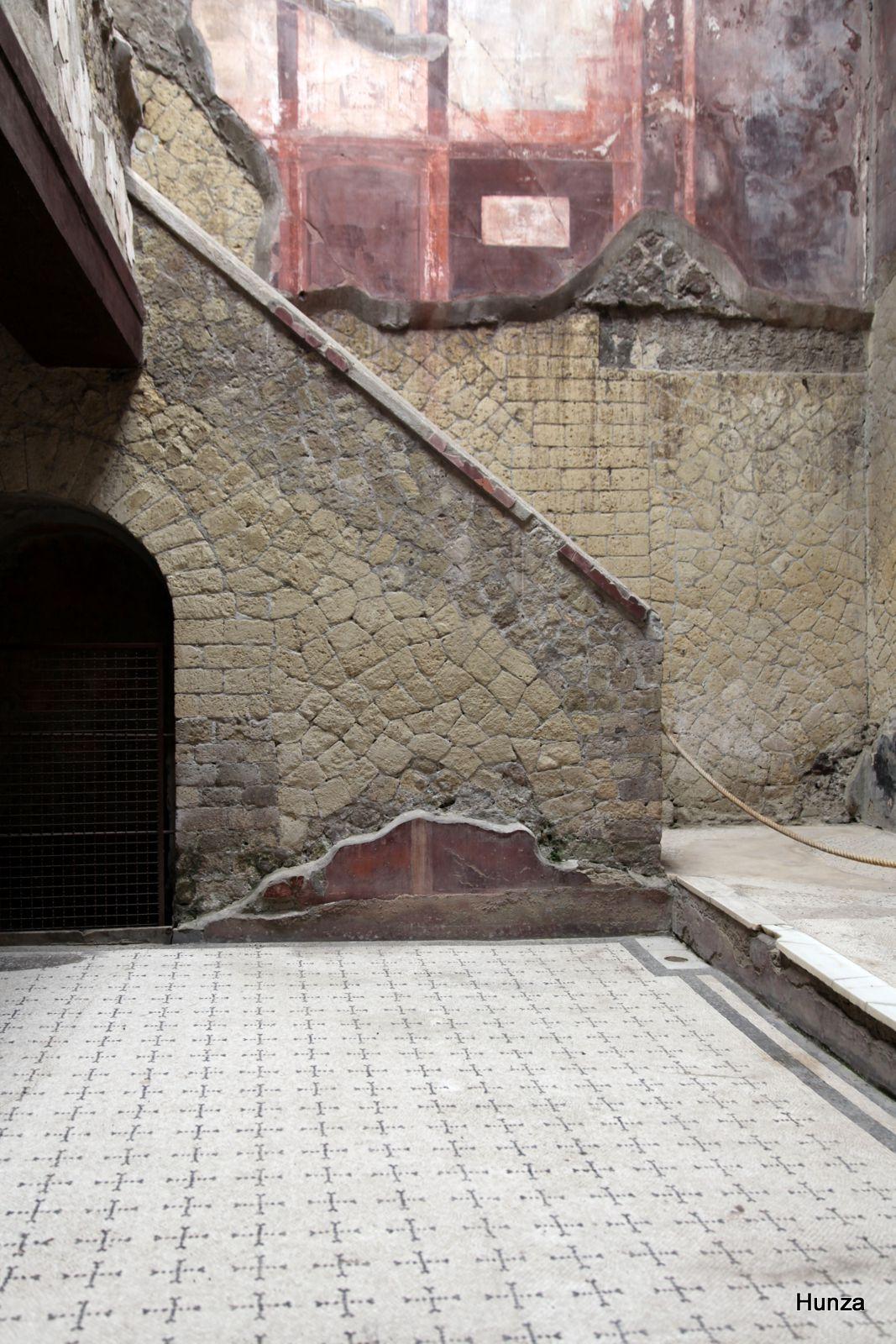 Herculanum, maison de la Belle Cour intérieure