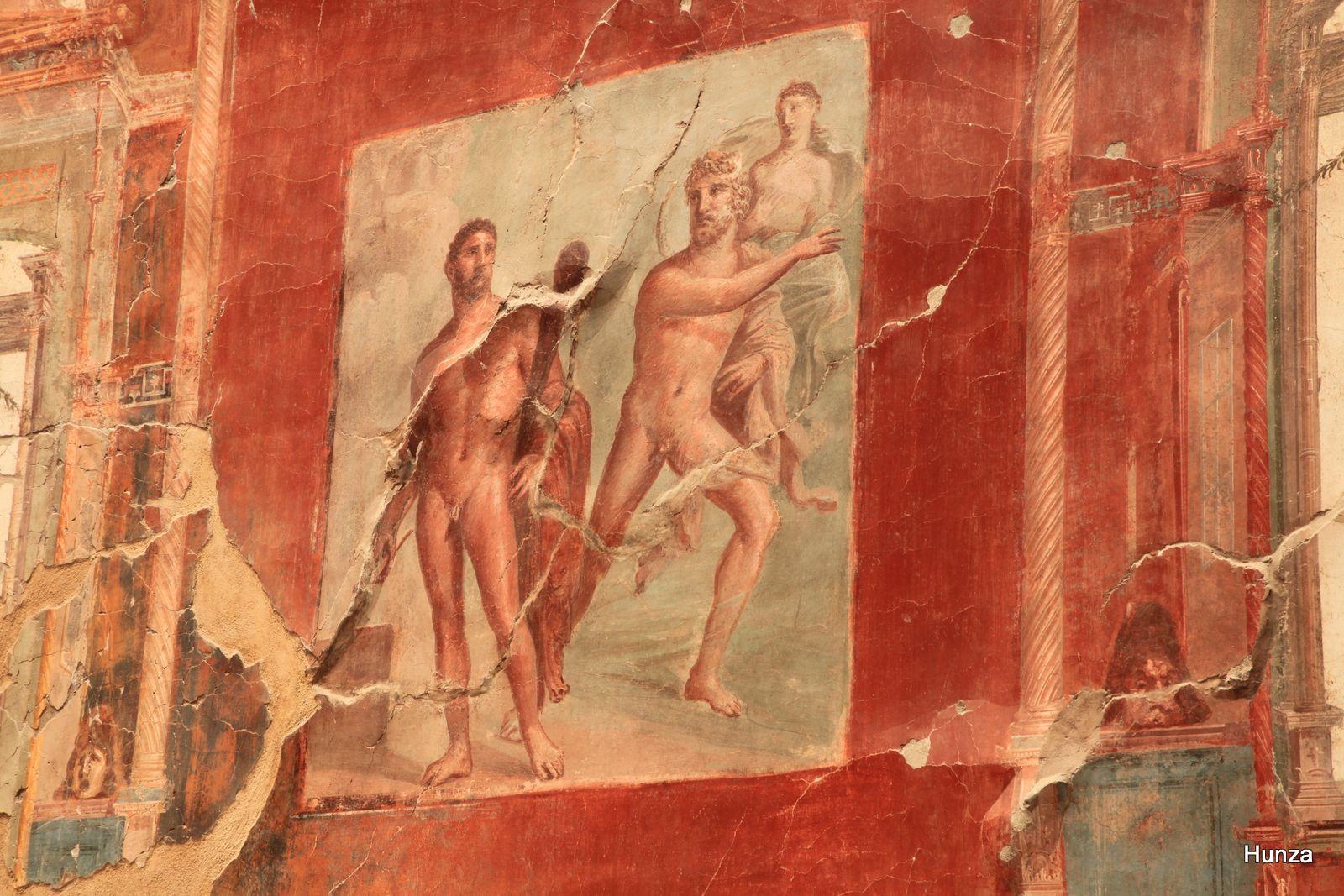 Lutte d'Hercule contre son rival Achéloos