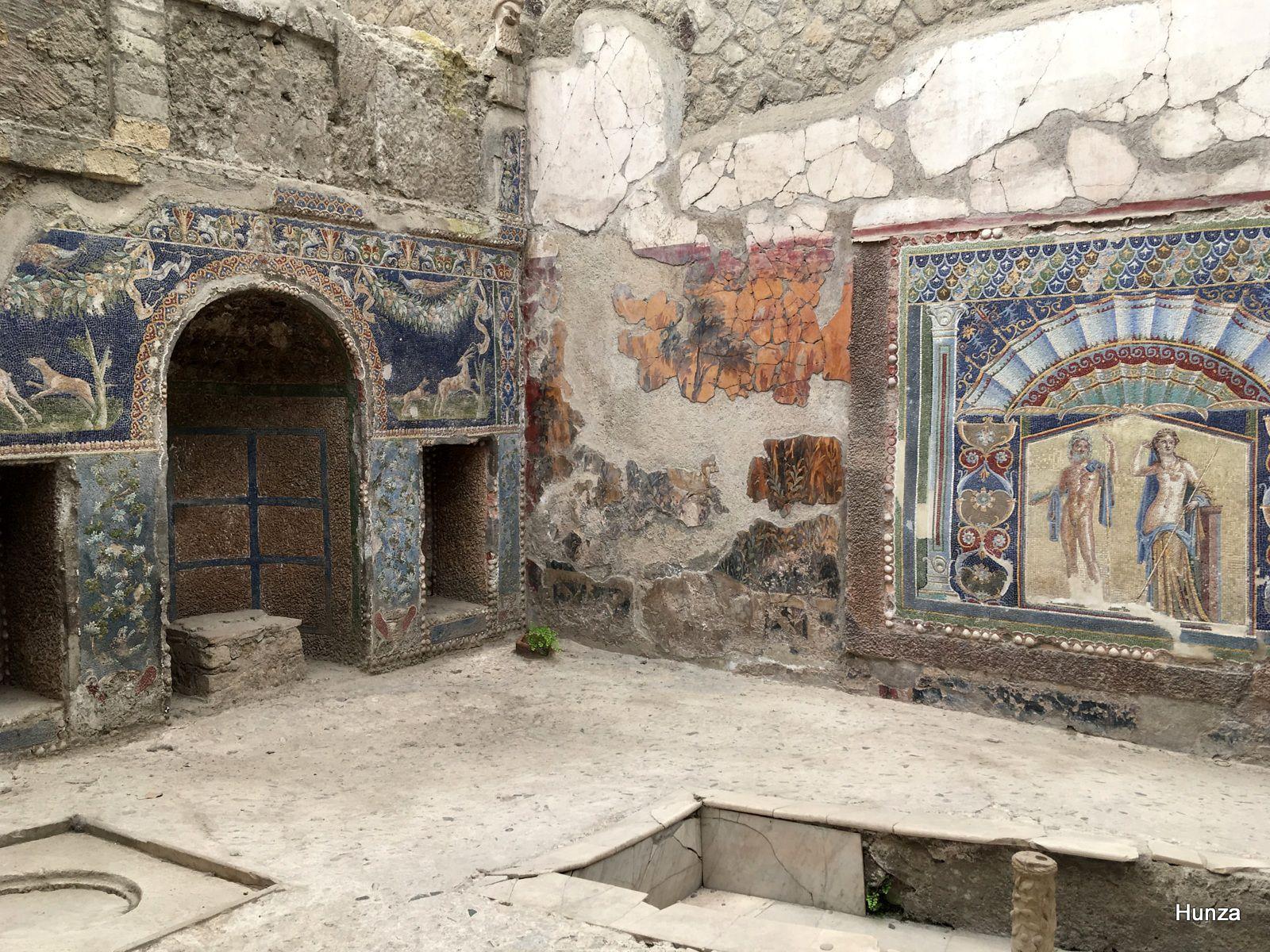 Visiter la cité antique d'Herculanum