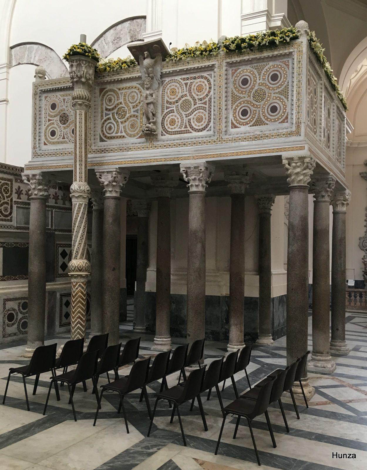Cathédrale de Salerne, grand ambon