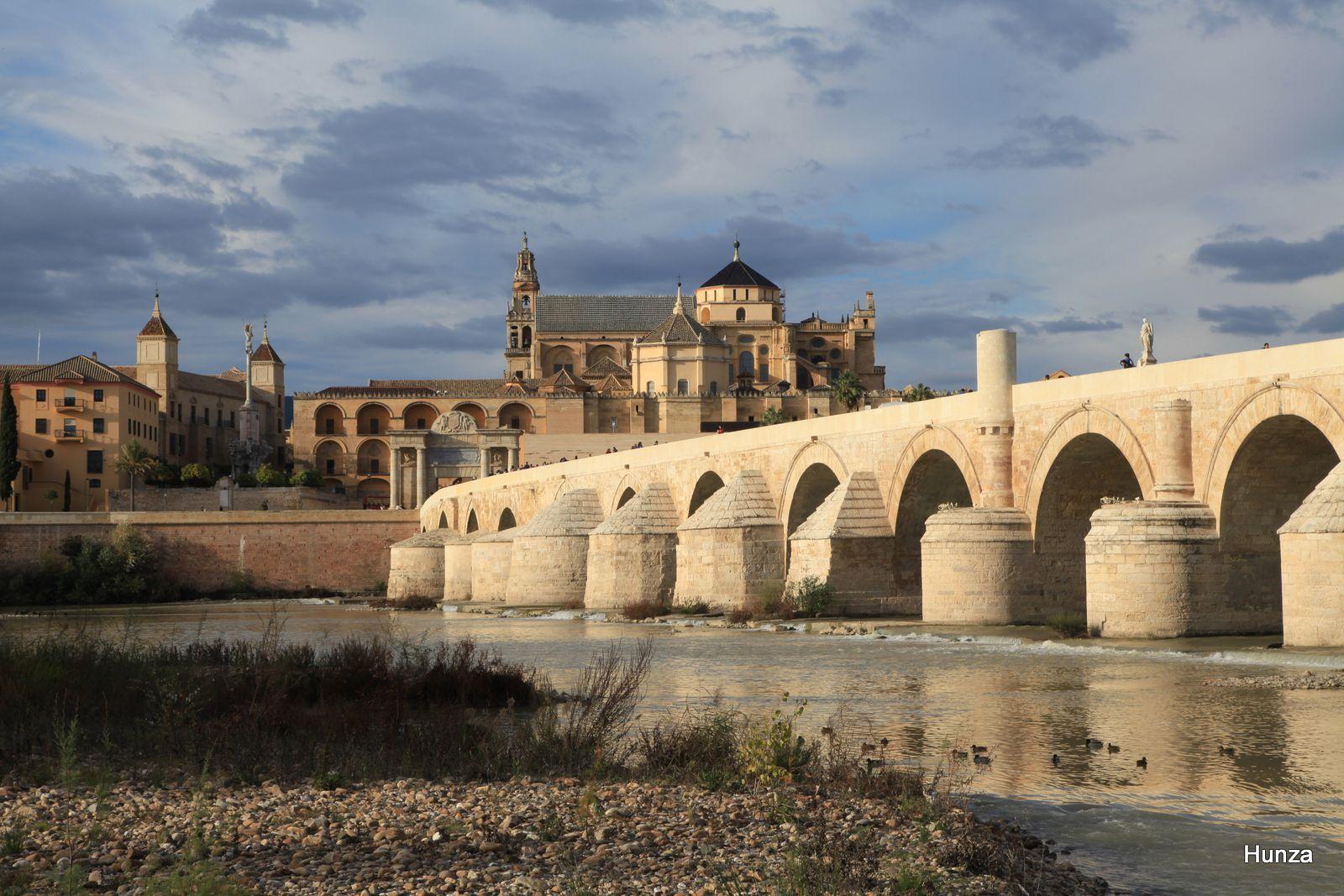 Le pont romain et la Mezquita
