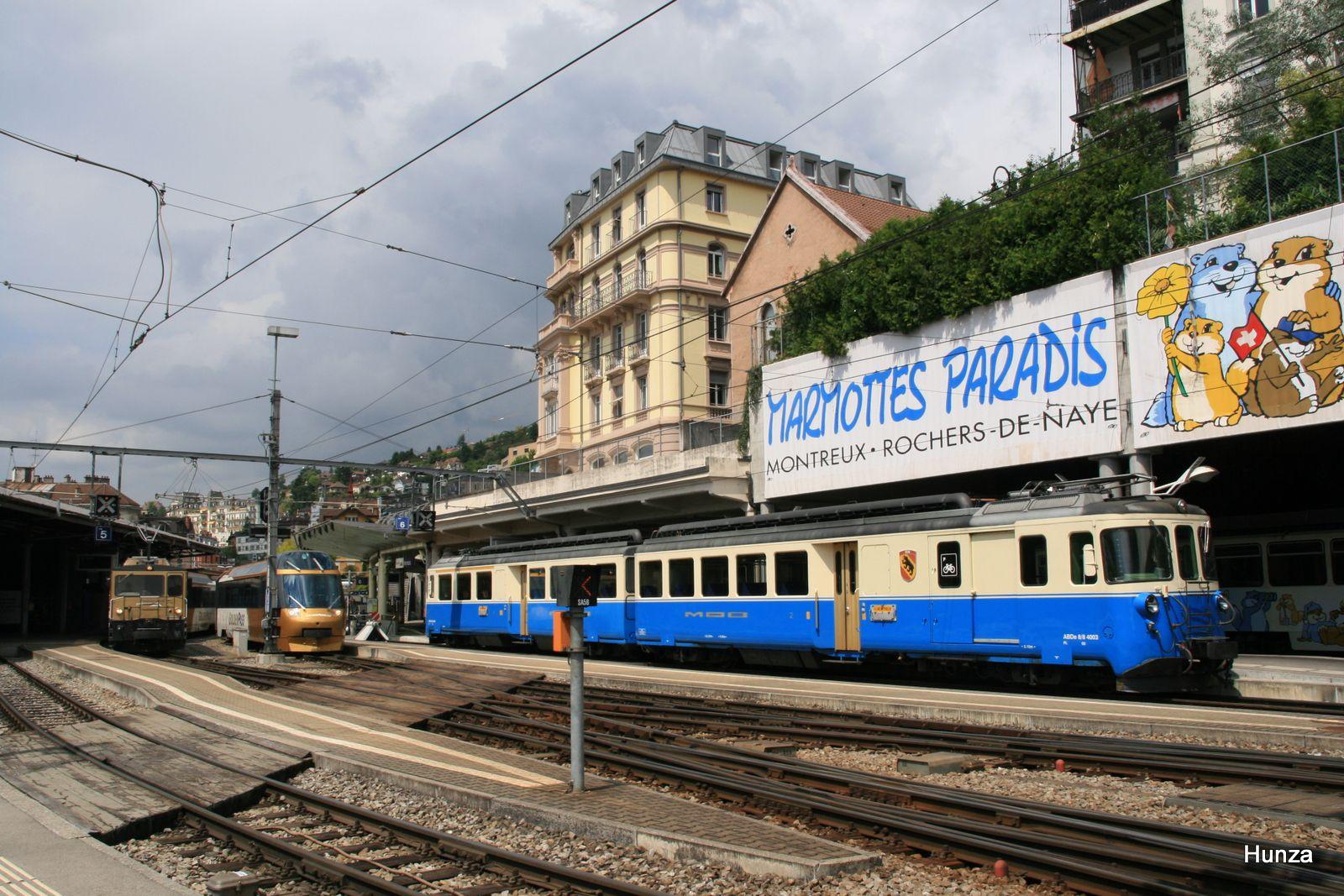 Automotrice ABDe 8/8 n°4003 (Montreux, le 28 juillet 2011)