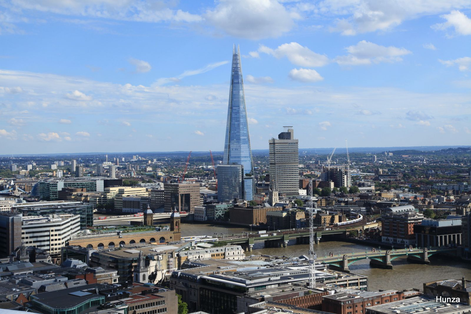 The Shard le plus haut gratte-ciel du Royaume-Uni
