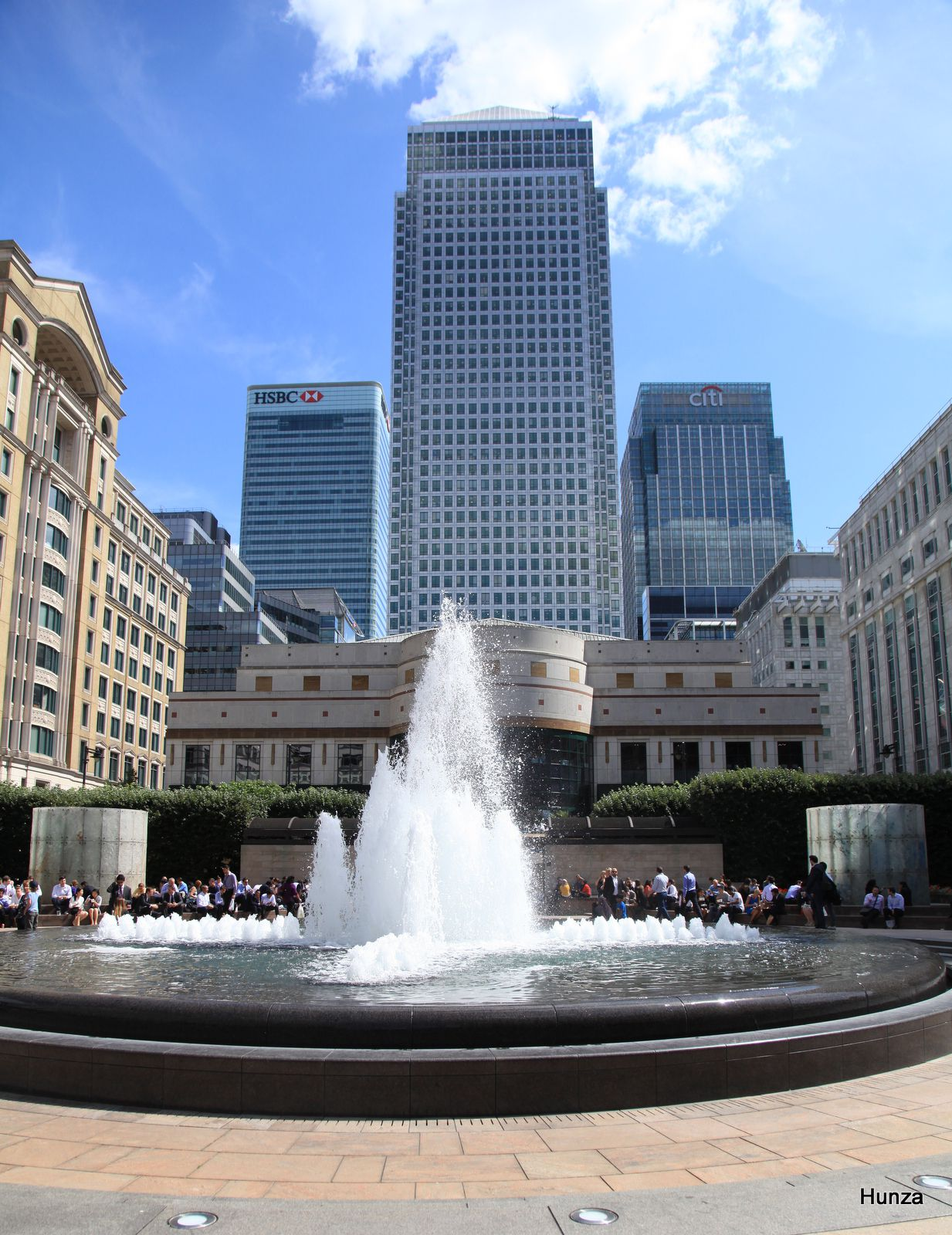 Cabot square, Canary Warf