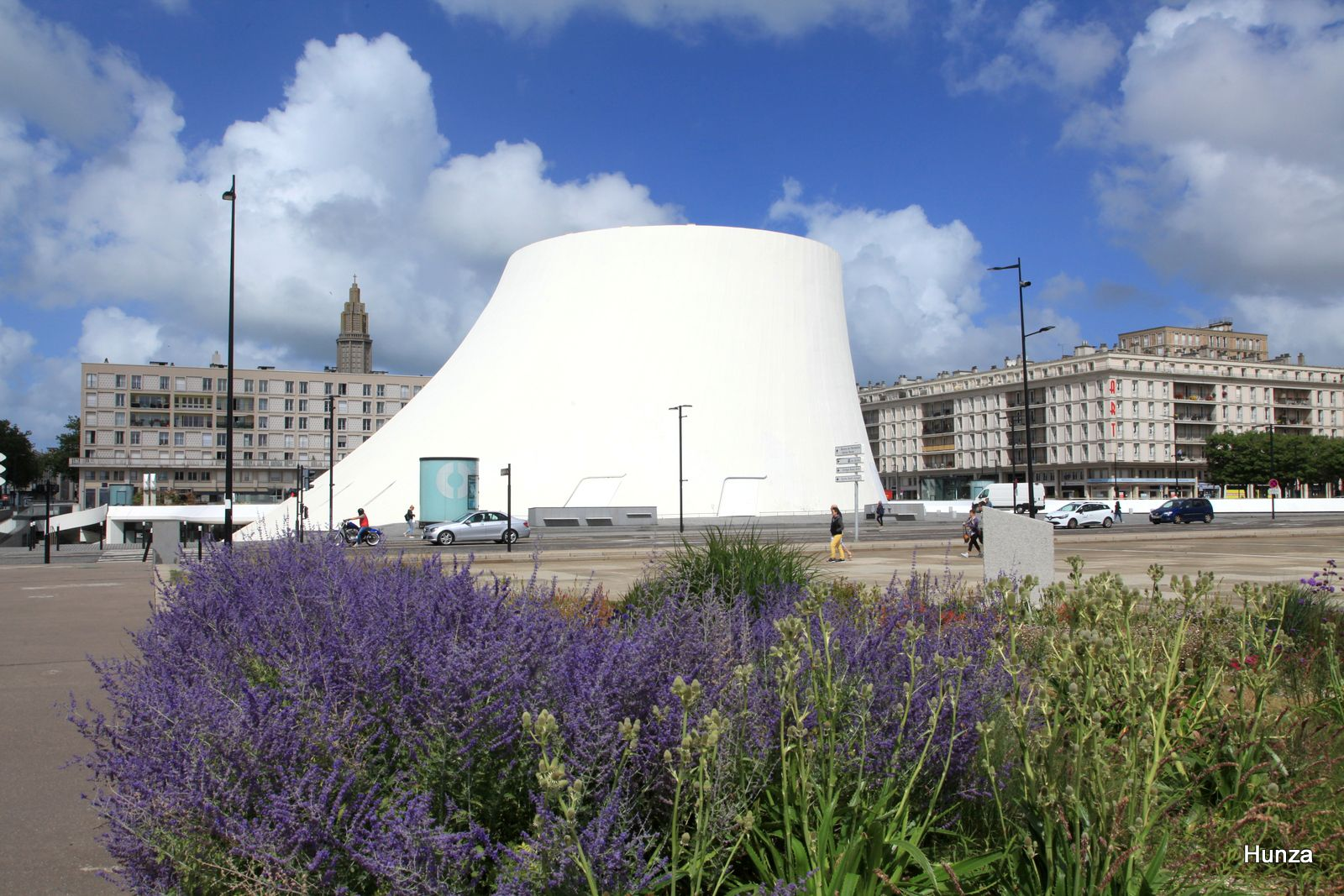 Le Havre, le Volcan