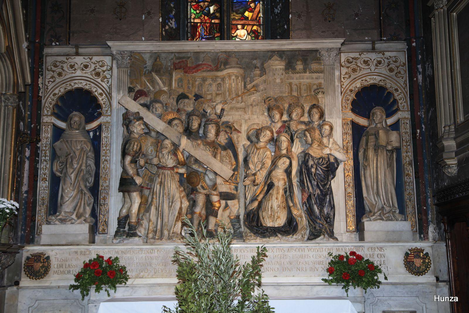 Retable de Francesco Laurana réalisé en 1476 pour le roi René d'Anjou, dernier comte de Provence.
