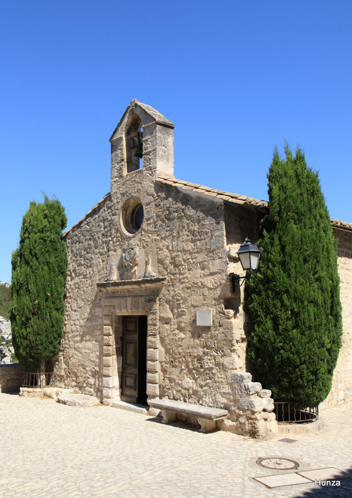 Les Baux de Provence, chapelle pénitents blancs