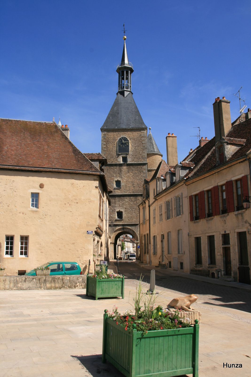 Avallon, tour de l'Horloge