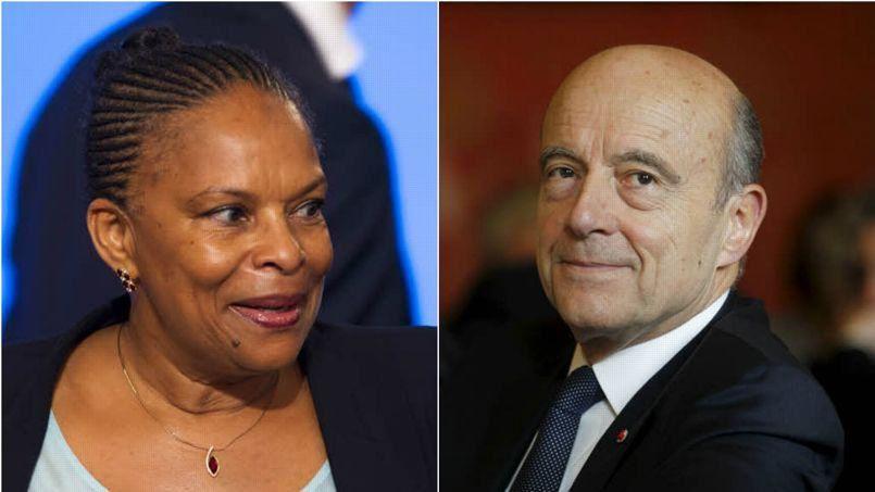 Christiane Taubira fait l'éloge d'Alain Juppé
