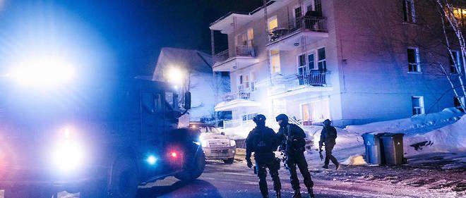 L'attentat contre une mosquée, à Québec, par Christian Martin