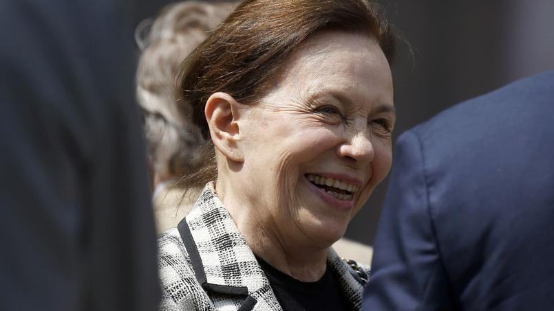 1 ) Marie-France Garaud en 2015.