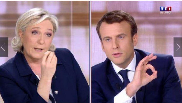 1 ) Le débat. 2 ) Macron et Patrick Drahi.