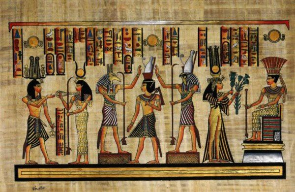 2 ) Le sphinx de Giseh, semblant méditer sur l'éternité face à l'immensité du désert. 3 ) Le même ( cum commento ).