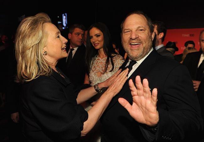"""1 ) Harvey Weinstein. 2 et ss ; Les autres photos sont d'amis """"anciens"""" de Weinstein, dont AUCUN ne savait qui était le bonhomme."""