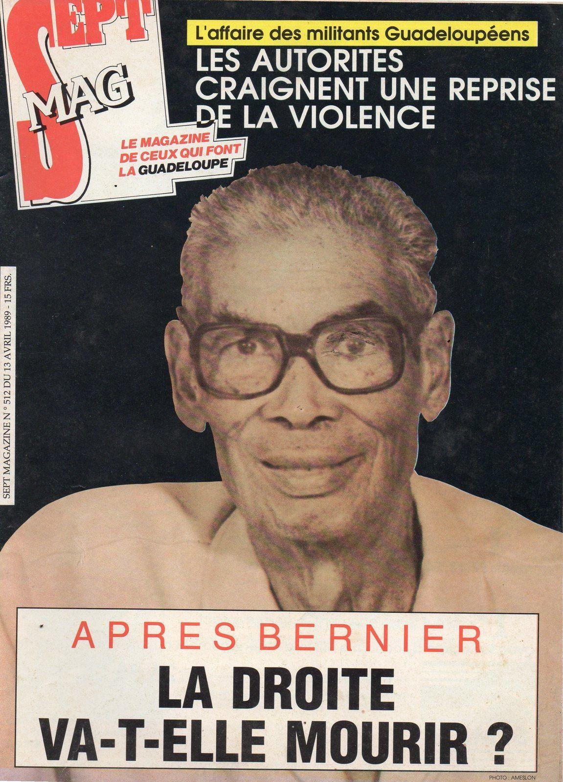 1 ) Laurent Bernier. 2 ) Le grand Lucien. 3 ) Lucien Bernier ( annes 70 ) avec E. Boulogne, et de jeunes militants. 3 ) On ti moun qui pa ka voyé di ! ).